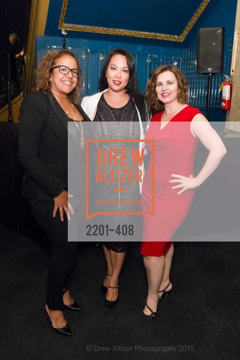 Kandiss Randolph, Sue Remedios, Sylvia Quinteros, REDF's 2015 BENEFIT featuring JOURNEY, The Warfield Theatre. 982 Market St, October 22nd, 2015,Drew Altizer, Drew Altizer Photography, full-service agency, private events, San Francisco photographer, photographer california