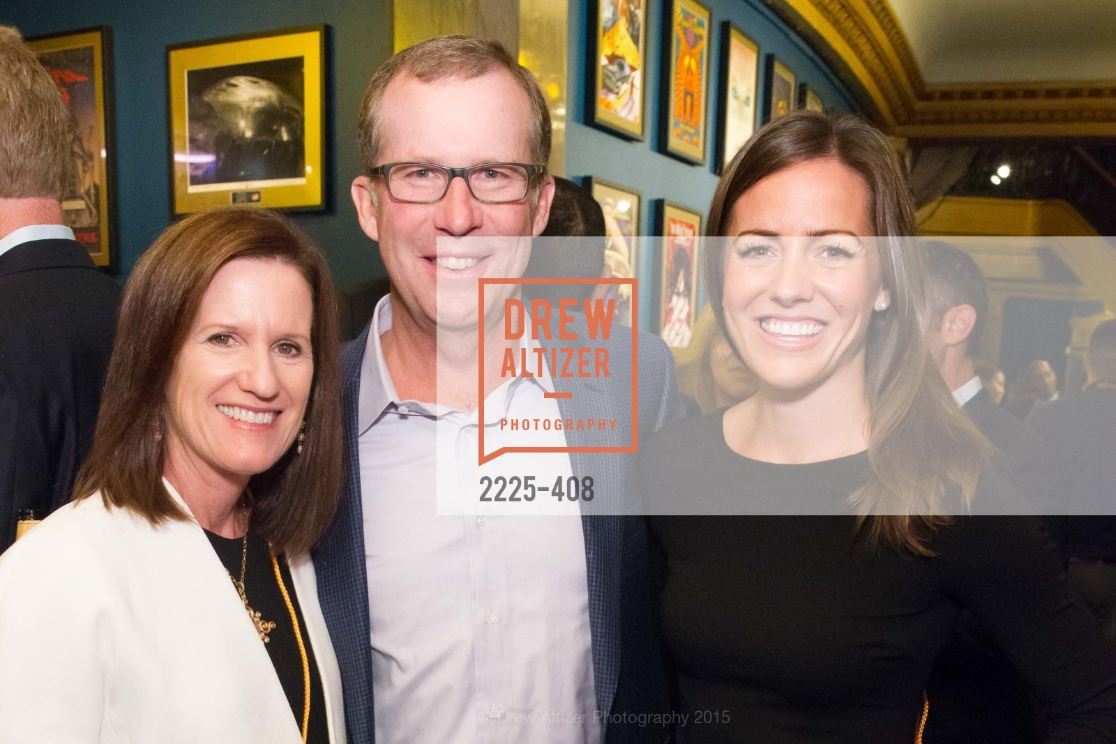 Shawn Mackenzie, Doug Mackensie, Therese Minjal, REDF's 2015 BENEFIT featuring JOURNEY, The Warfield Theatre. 982 Market St, October 22nd, 2015,Drew Altizer, Drew Altizer Photography, full-service agency, private events, San Francisco photographer, photographer california