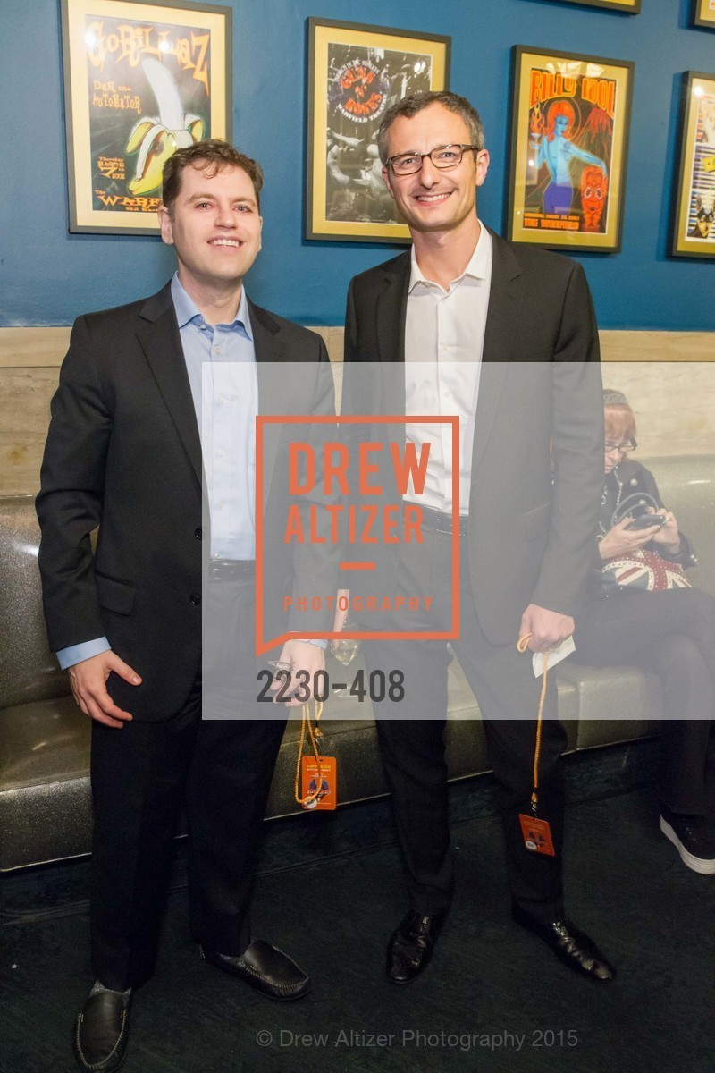 Matt Cuppet, David Tevenaugh, REDF's 2015 BENEFIT featuring JOURNEY, The Warfield Theatre. 982 Market St, October 22nd, 2015,Drew Altizer, Drew Altizer Photography, full-service agency, private events, San Francisco photographer, photographer california