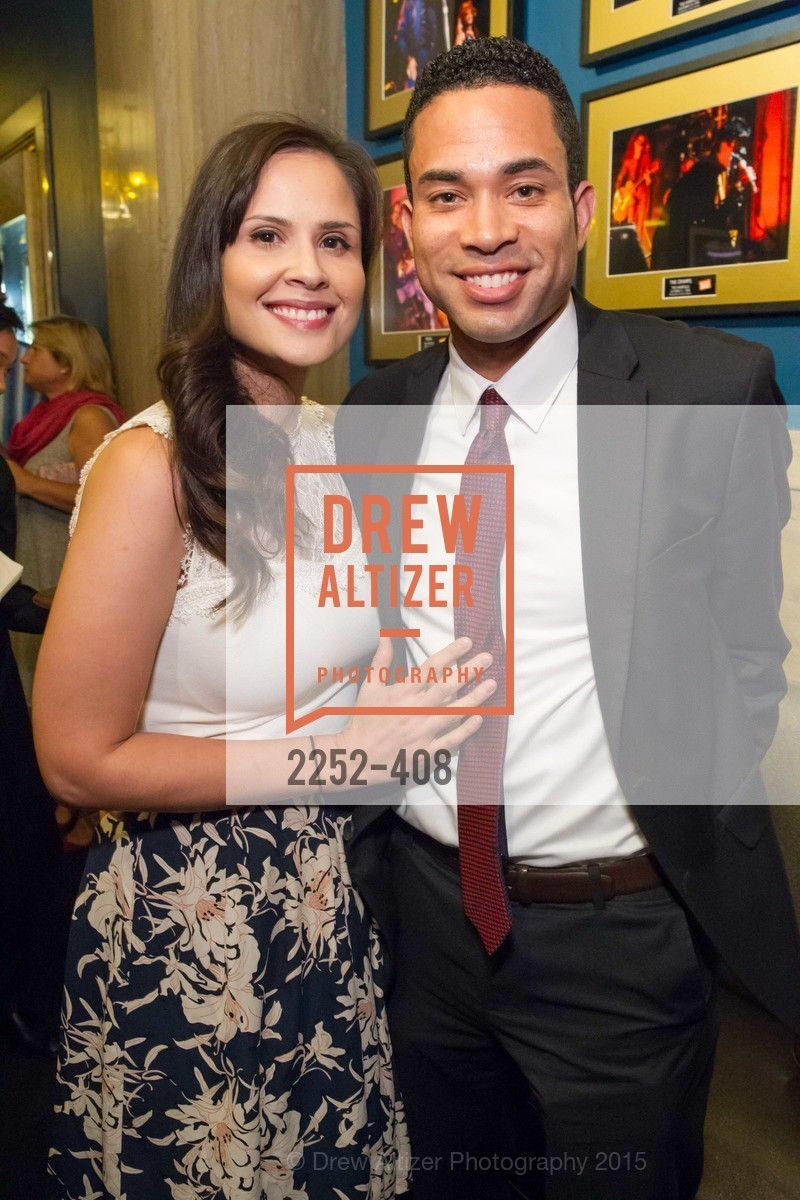 Erica Ortiz, Alex Navy, REDF's 2015 BENEFIT featuring JOURNEY, The Warfield Theatre. 982 Market St, October 22nd, 2015,Drew Altizer, Drew Altizer Photography, full-service agency, private events, San Francisco photographer, photographer california