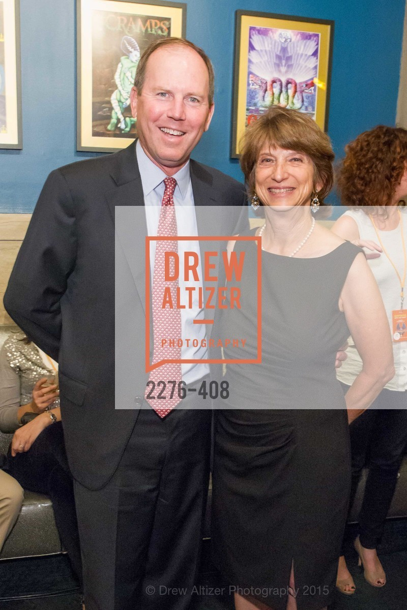 Ron Sturzenegger, Carla Javits, REDF's 2015 BENEFIT featuring JOURNEY, The Warfield Theatre. 982 Market St, October 22nd, 2015,Drew Altizer, Drew Altizer Photography, full-service agency, private events, San Francisco photographer, photographer california