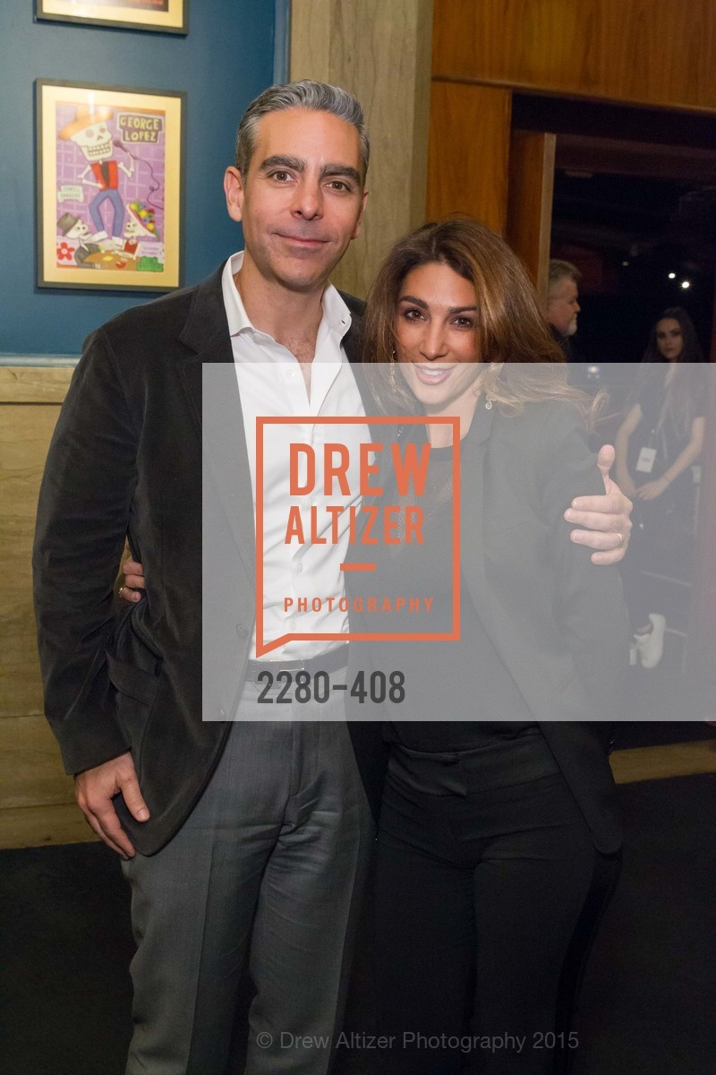 David Marcus, Stephanie Marcus, REDF's 2015 BENEFIT featuring JOURNEY, The Warfield Theatre. 982 Market St, October 22nd, 2015