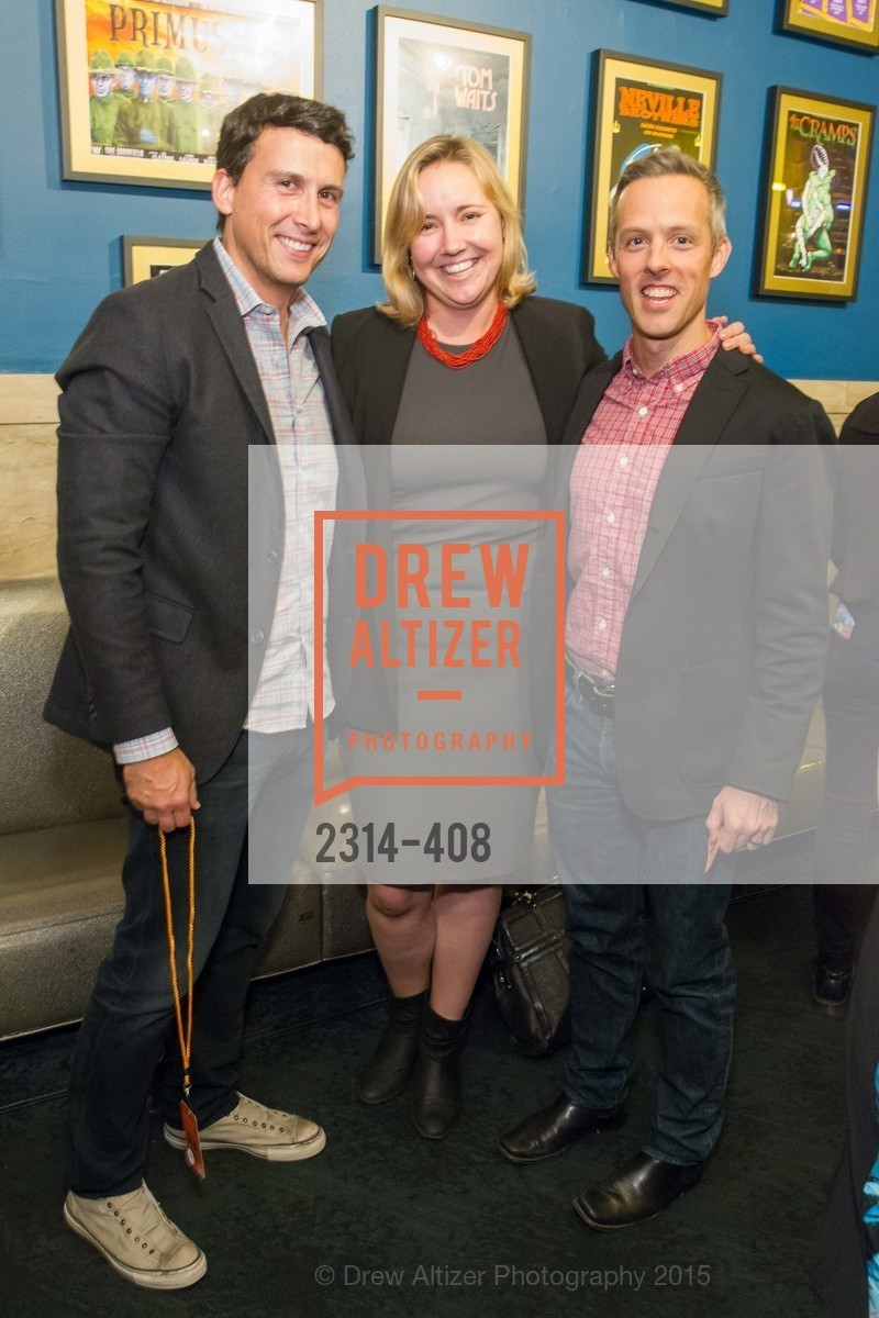Alex Bard, Molly Graham, Jay Simons, REDF's 2015 BENEFIT featuring JOURNEY, The Warfield Theatre. 982 Market St, October 22nd, 2015,Drew Altizer, Drew Altizer Photography, full-service agency, private events, San Francisco photographer, photographer california