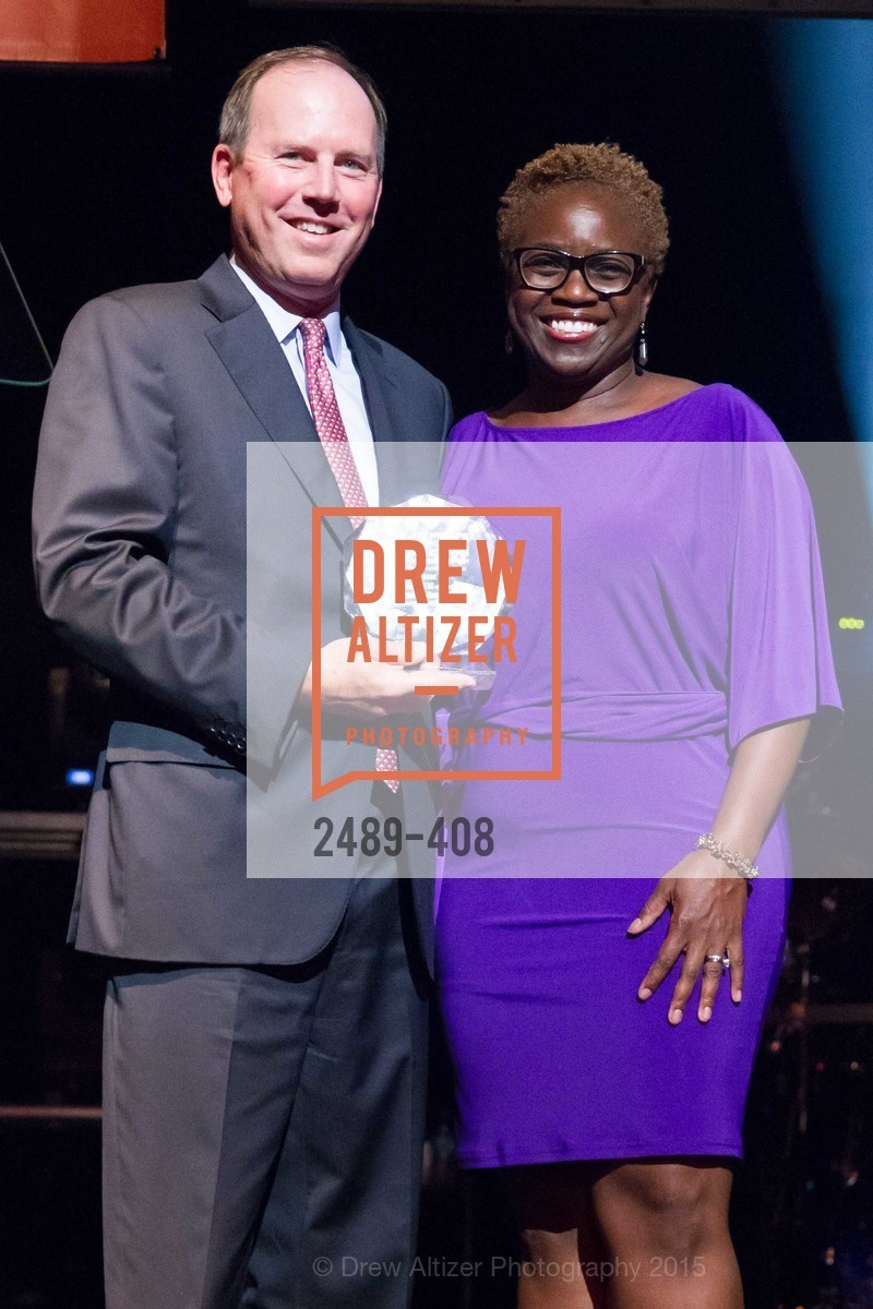 Ron Struzenegger, Lande Ajose, REDF's 2015 BENEFIT featuring JOURNEY, The Warfield Theatre. 982 Market St, October 22nd, 2015,Drew Altizer, Drew Altizer Photography, full-service agency, private events, San Francisco photographer, photographer california