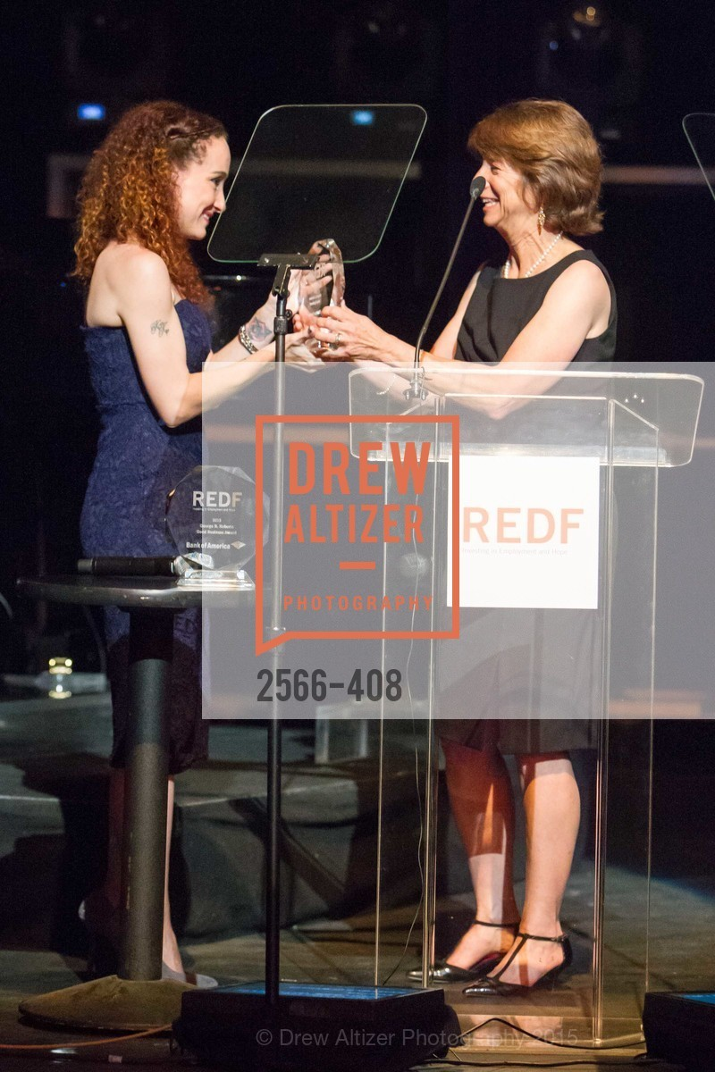 Katelyn Dalton, Carla Javits, REDF's 2015 BENEFIT featuring JOURNEY, The Warfield Theatre. 982 Market St, October 22nd, 2015,Drew Altizer, Drew Altizer Photography, full-service agency, private events, San Francisco photographer, photographer california