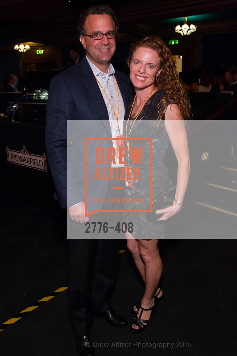 Jason Dilullo, Sarah Dilullo, REDF's 2015 BENEFIT featuring JOURNEY, The Warfield Theatre. 982 Market St, October 22nd, 2015
