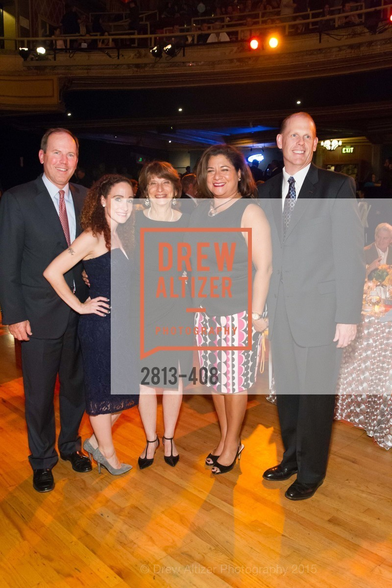 Ron Sturzenegger, Katelyn Dalton, Carla Javits, Danielle Campos, Mark Finehauer, REDF's 2015 BENEFIT featuring JOURNEY, The Warfield Theatre. 982 Market St, October 22nd, 2015,Drew Altizer, Drew Altizer Photography, full-service agency, private events, San Francisco photographer, photographer california