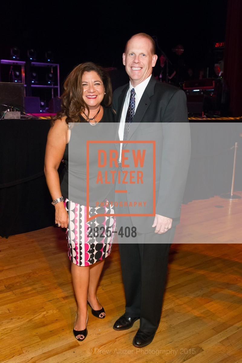 Danielle Campos, Mark Finehauer, REDF's 2015 BENEFIT featuring JOURNEY, The Warfield Theatre. 982 Market St, October 22nd, 2015,Drew Altizer, Drew Altizer Photography, full-service agency, private events, San Francisco photographer, photographer california