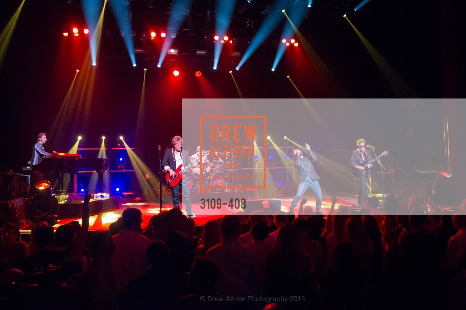 Performance By Journey, REDF's 2015 BENEFIT featuring JOURNEY, The Warfield Theatre. 982 Market St, October 22nd, 2015