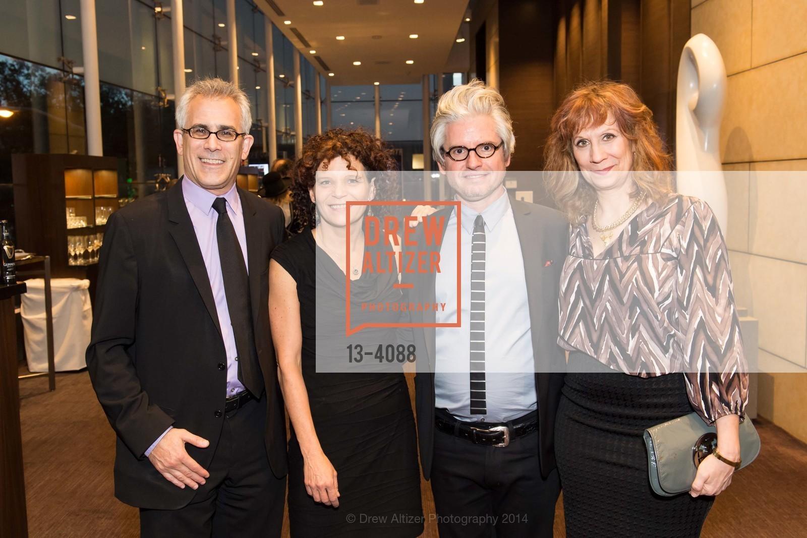 David Corn, Monika Bauerlein, David Brock, Lizz Winstead, Photo #13-4088