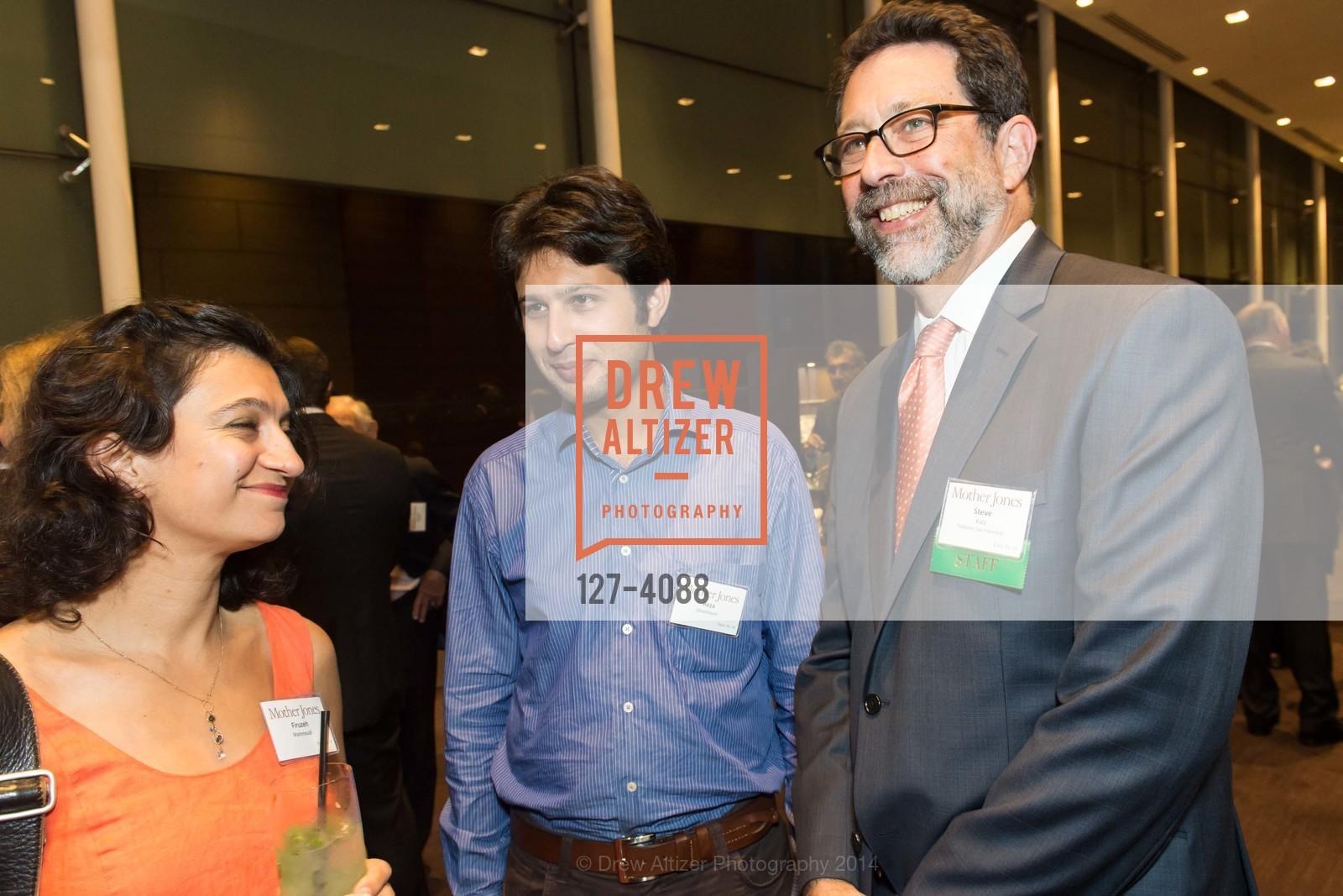 Firuzeh Mahmoudi, Reza Ghazinouri, Steve Katz, Photo #127-4088
