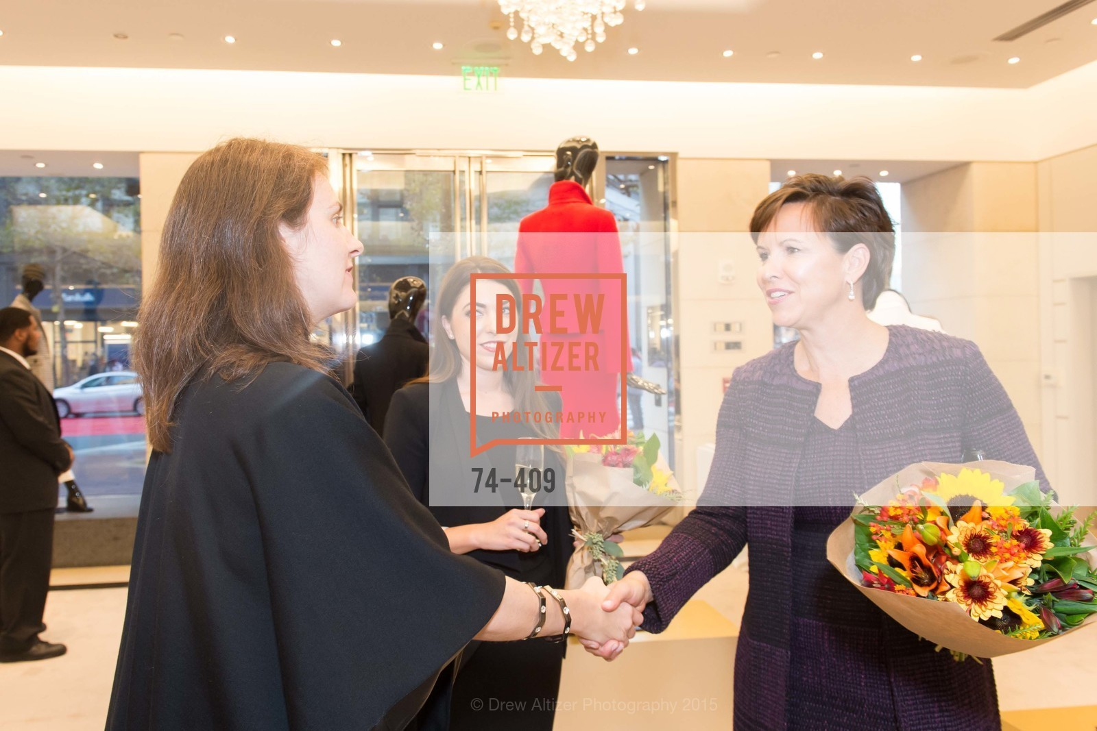 Daniella Vallurupalli, Kate Smith, St. John in Conversation with Exceptional Women benefiting Raphael House of San Francisco, St. John Boutique, October 22nd, 2015,Drew Altizer, Drew Altizer Photography, full-service agency, private events, San Francisco photographer, photographer california