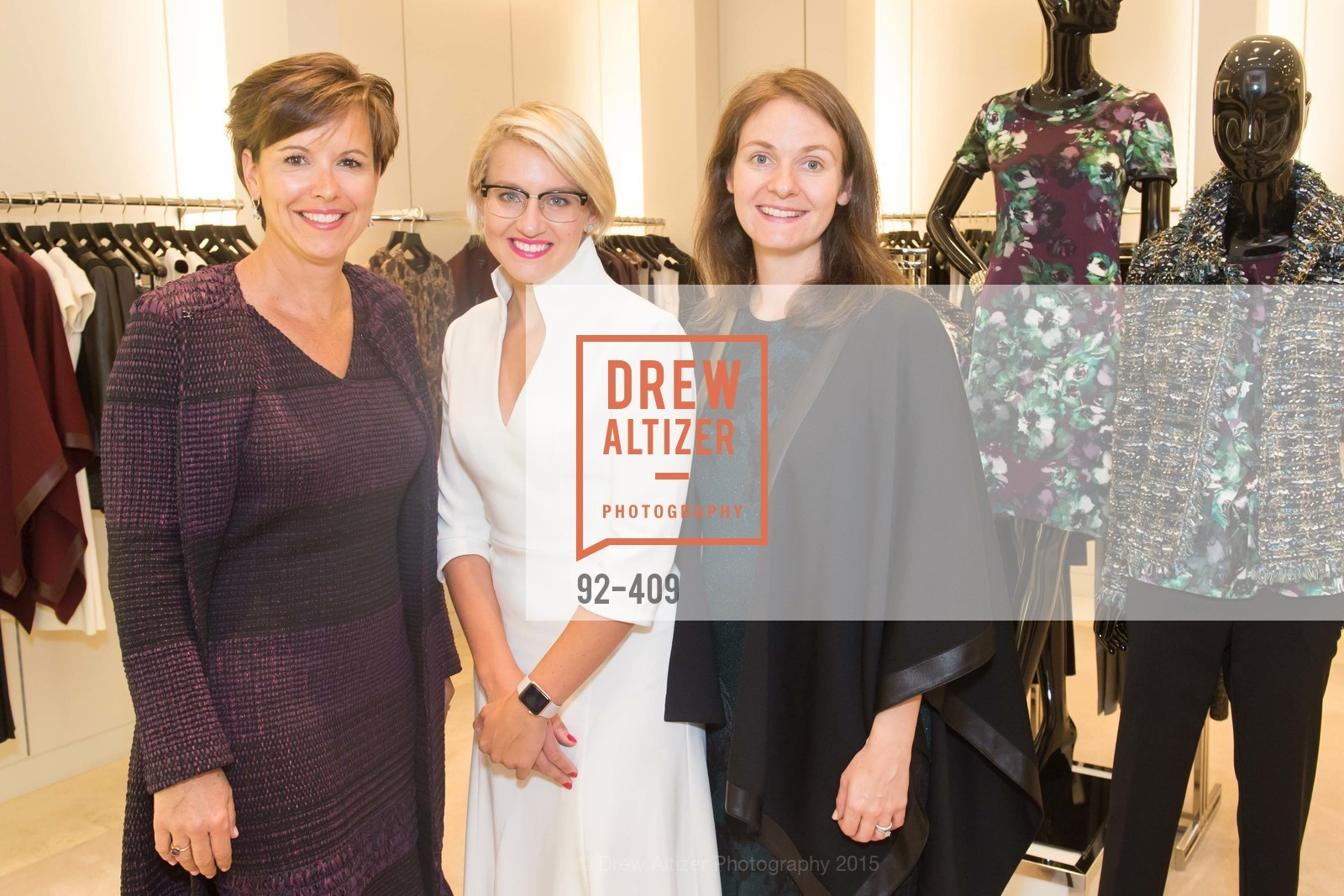 Kate Smith, Maghan McDowell, Michelle Zatlyn, St. John in Conversation with Exceptional Women benefiting Raphael House of San Francisco, St. John Boutique, October 22nd, 2015,Drew Altizer, Drew Altizer Photography, full-service agency, private events, San Francisco photographer, photographer california