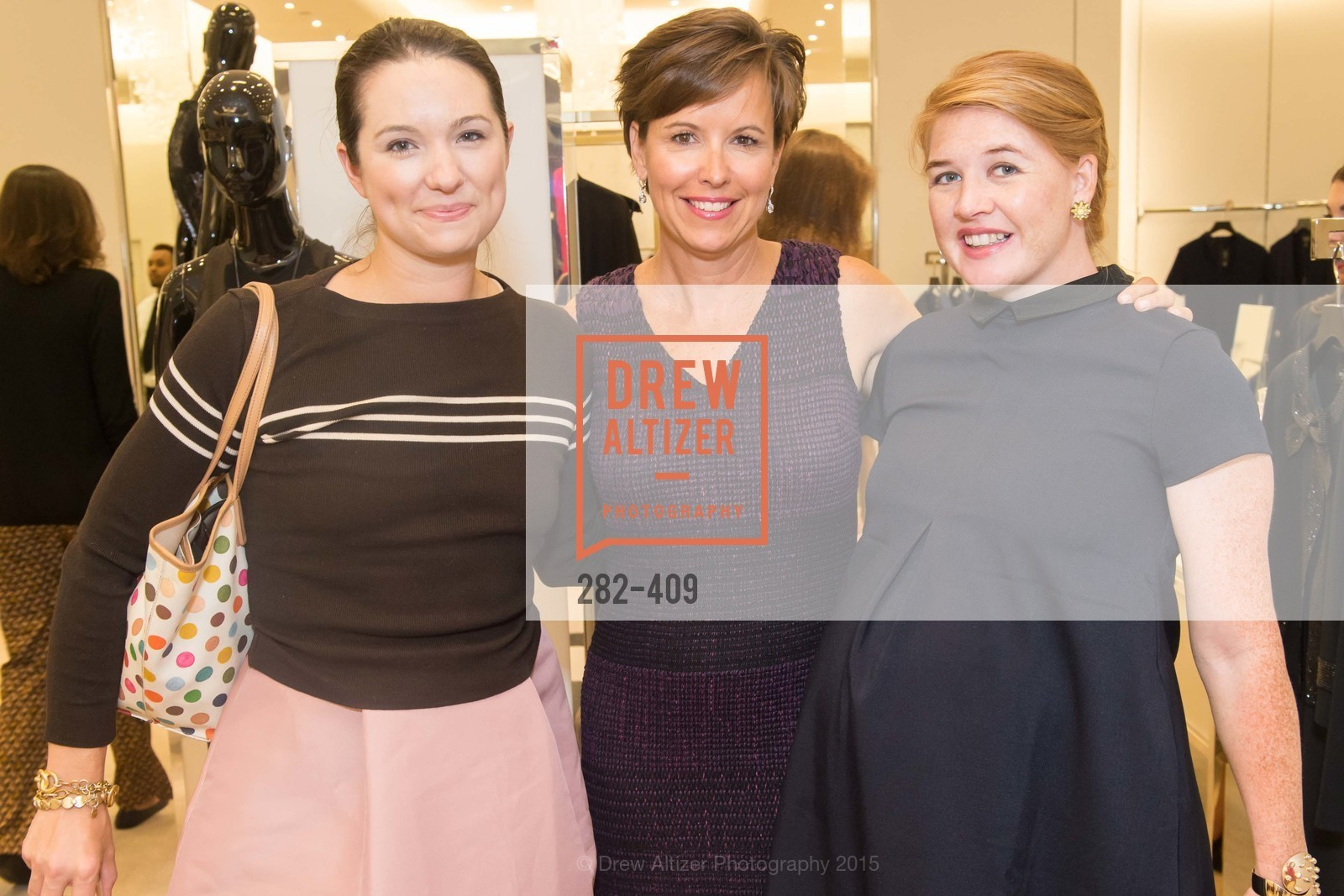 Genevieve Weeks, Kate Smith, Vanessa Welstead, St. John in Conversation with Exceptional Women benefiting Raphael House of San Francisco, St. John Boutique, October 22nd, 2015,Drew Altizer, Drew Altizer Photography, full-service agency, private events, San Francisco photographer, photographer california