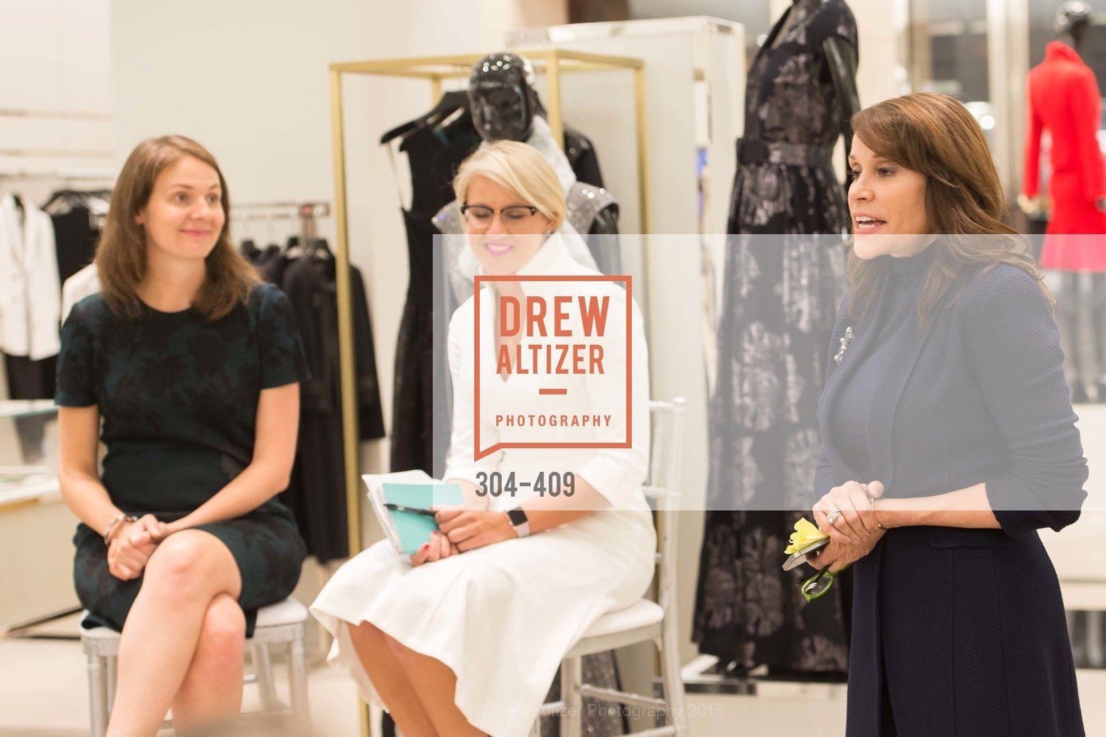 Michelle Zatlyn, Maghan McDowell, Kate DeBernardi, St. John in Conversation with Exceptional Women benefiting Raphael House of San Francisco, St. John Boutique, October 22nd, 2015,Drew Altizer, Drew Altizer Photography, full-service agency, private events, San Francisco photographer, photographer california