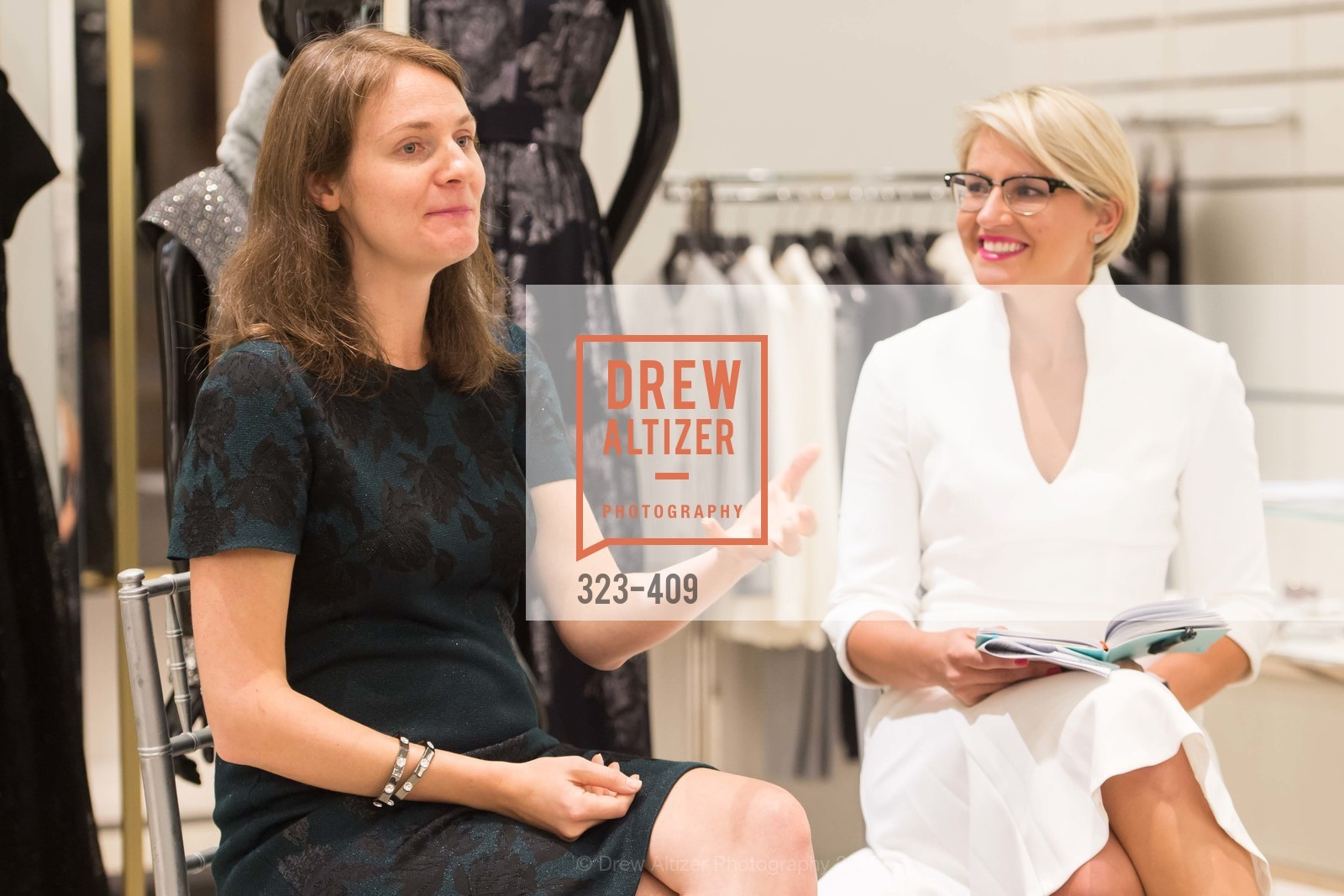 Michelle Zatlyn, Maghan McDowell, St. John in Conversation with Exceptional Women benefiting Raphael House of San Francisco, St. John Boutique, October 22nd, 2015,Drew Altizer, Drew Altizer Photography, full-service agency, private events, San Francisco photographer, photographer california