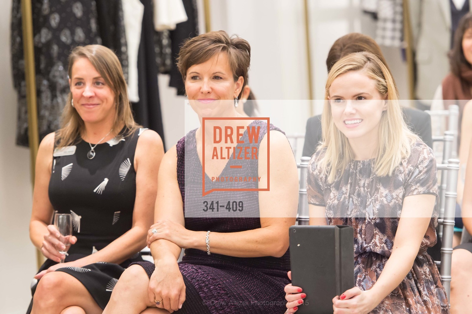 Erin Reeser, Kate Smith, Valerie Bourdage, St. John in Conversation with Exceptional Women benefiting Raphael House of San Francisco, St. John Boutique, October 22nd, 2015,Drew Altizer, Drew Altizer Photography, full-service agency, private events, San Francisco photographer, photographer california