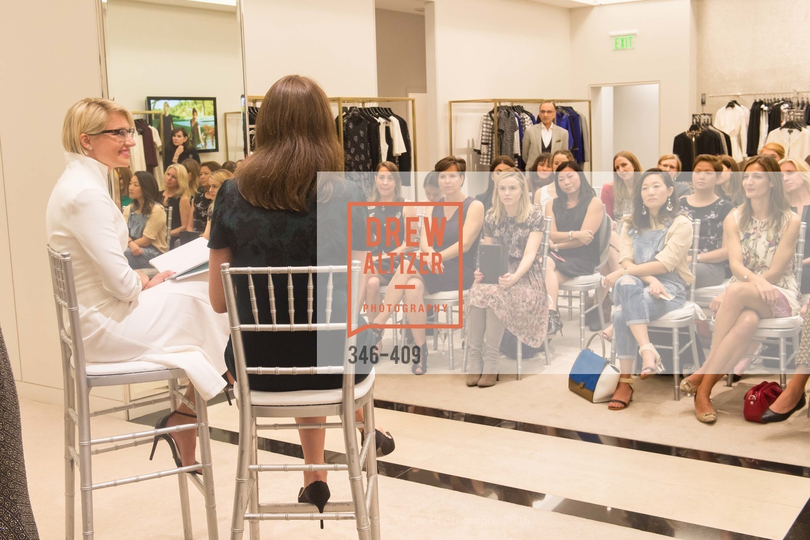 Atmosphere, St. John in Conversation with Exceptional Women benefiting Raphael House of San Francisco, St. John Boutique, October 22nd, 2015,Drew Altizer, Drew Altizer Photography, full-service agency, private events, San Francisco photographer, photographer california