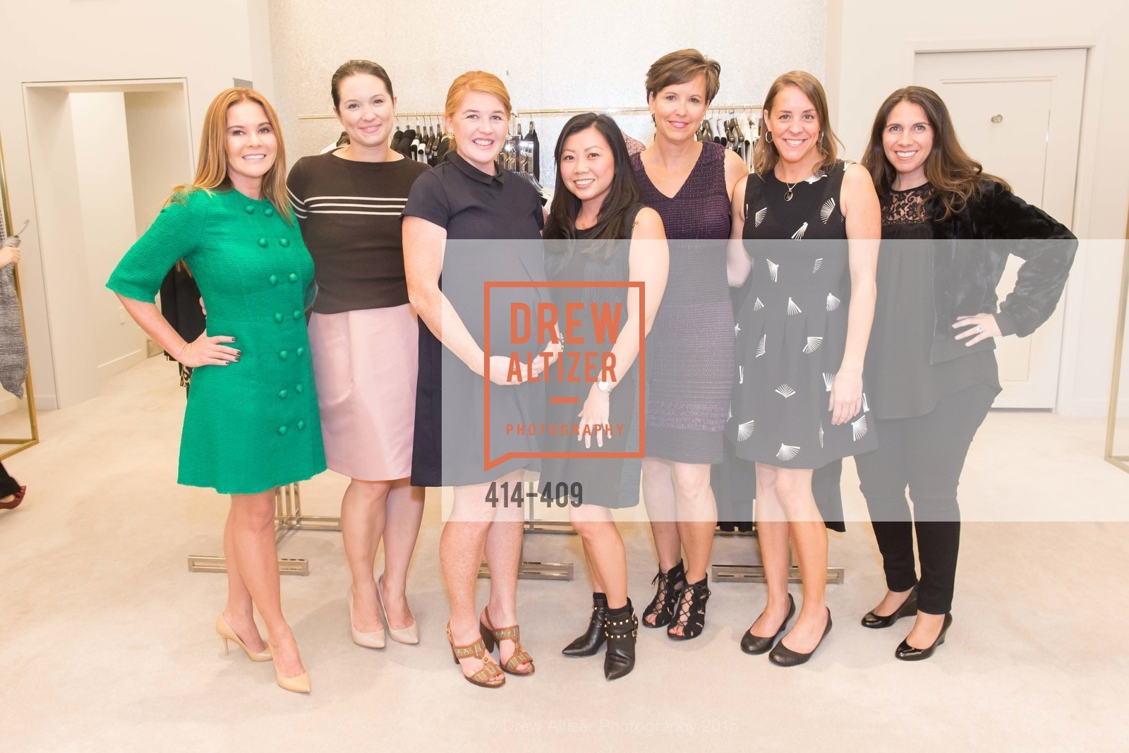 Judy Davies, Genevieve Weeks, Vanessa Welstead, Melissa Koerner, Kate Smith, Erin Reeser, Rachel Styne, St. John in Conversation with Exceptional Women benefiting Raphael House of San Francisco, St. John Boutique, October 22nd, 2015,Drew Altizer, Drew Altizer Photography, full-service agency, private events, San Francisco photographer, photographer california
