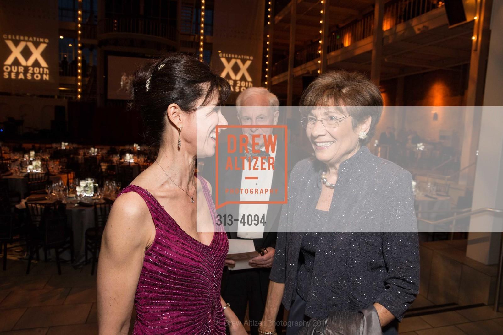 Celia Fushille, Alan Kaganov, Carol Kaganov, Photo #313-4094