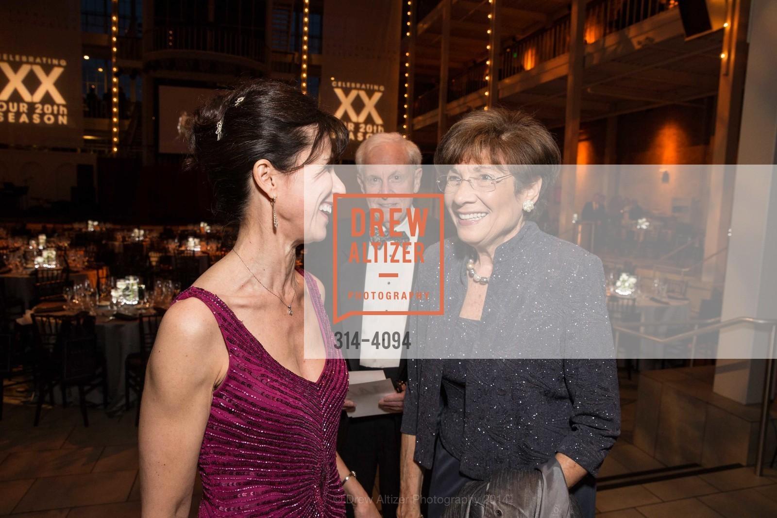 Celia Fushille, Alan Kaganov, Carol Kaganov, Photo #314-4094