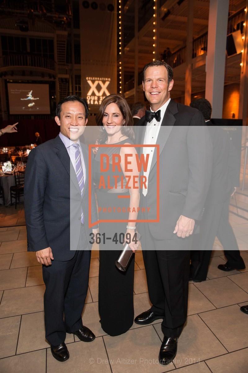 David Chiu, Kathleen Cooper, Bill Cooper, Photo #361-4094