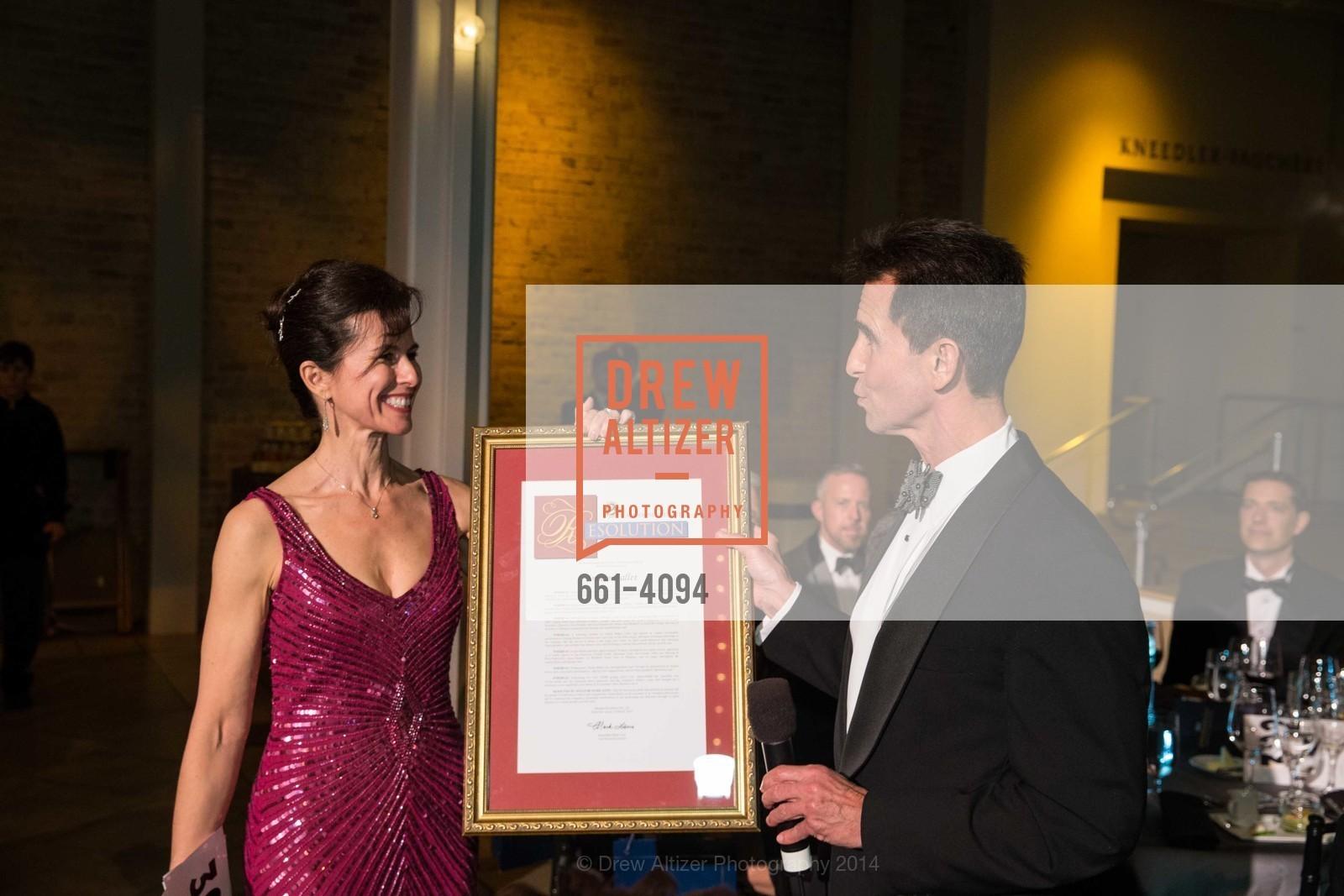 Celia Fushille, Senator Mark Leno, Photo #661-4094