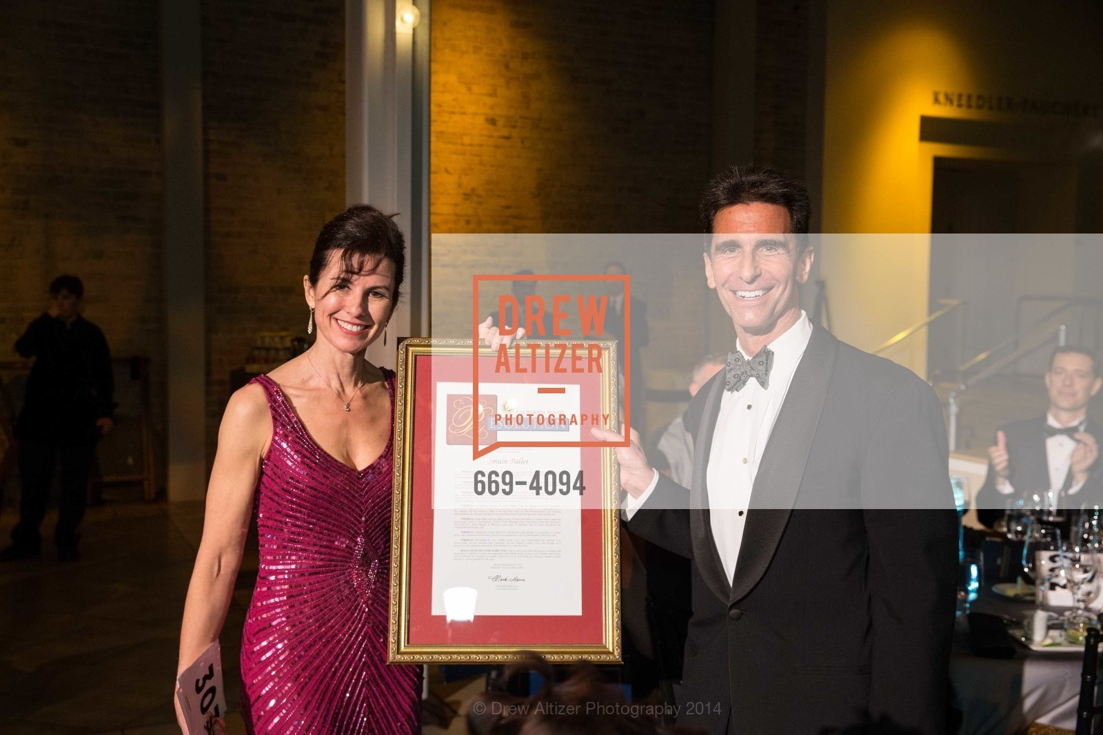 Celia Fushille, Senator Mark Leno, Photo #669-4094