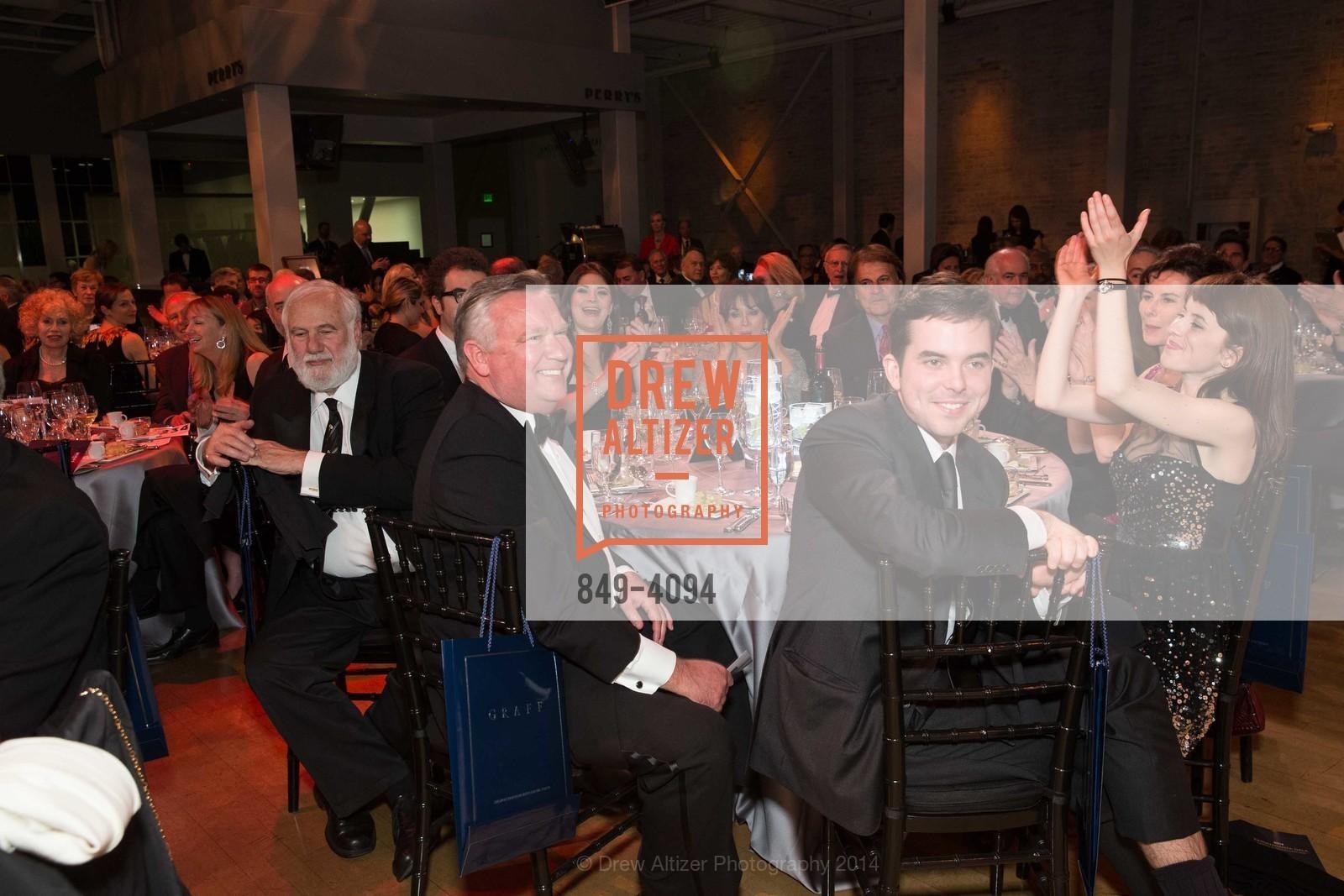 Jerry Garchik, Tom Jackson, Matthew Burke, Cahterine Burke, Photo #849-4094