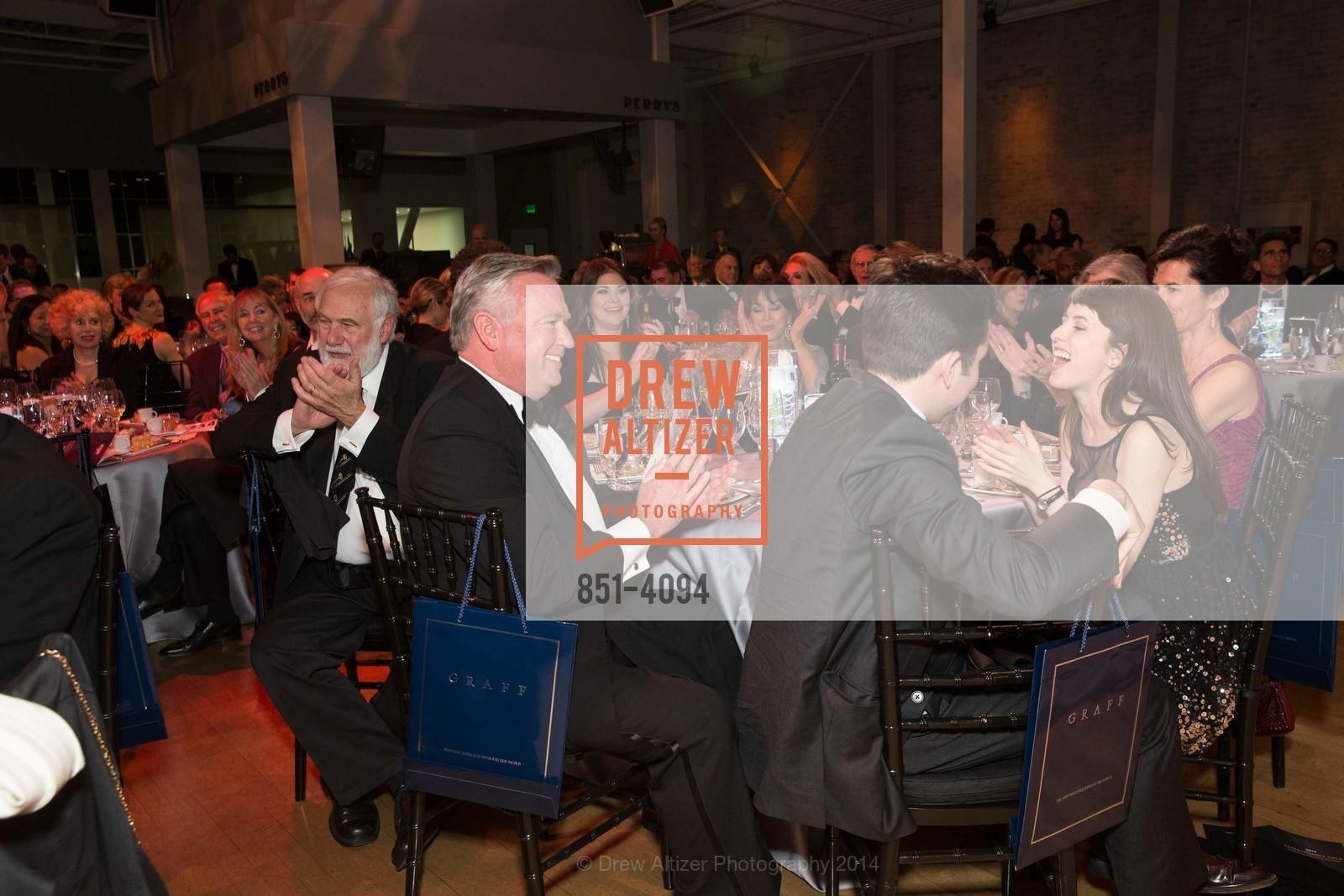Jerry Garchik, Tom Jackson, Matthew Burke, Cahterine Burke, Photo #851-4094