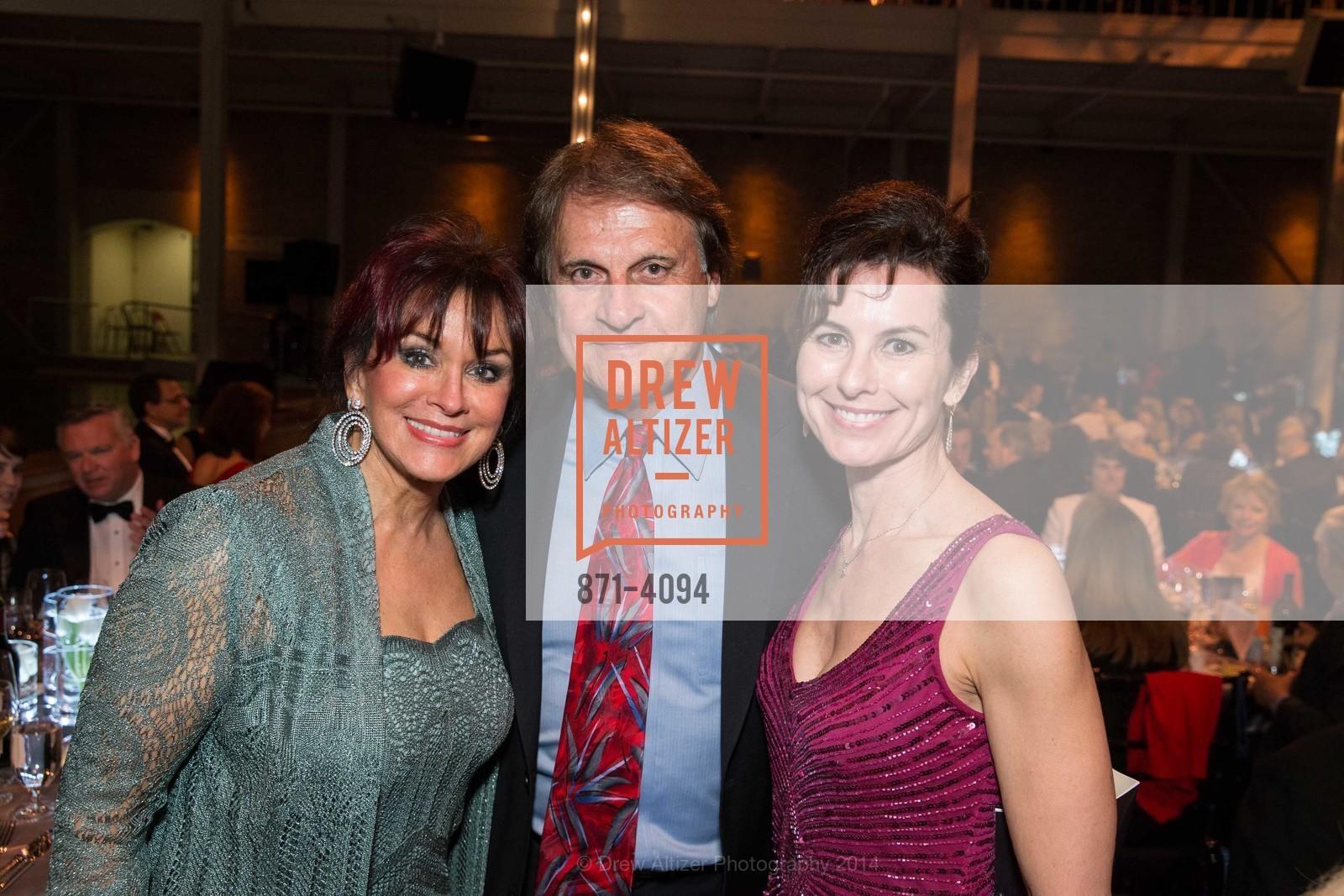 Elaine La Russa, Tony La Russa, Celia Fushille, Photo #871-4094