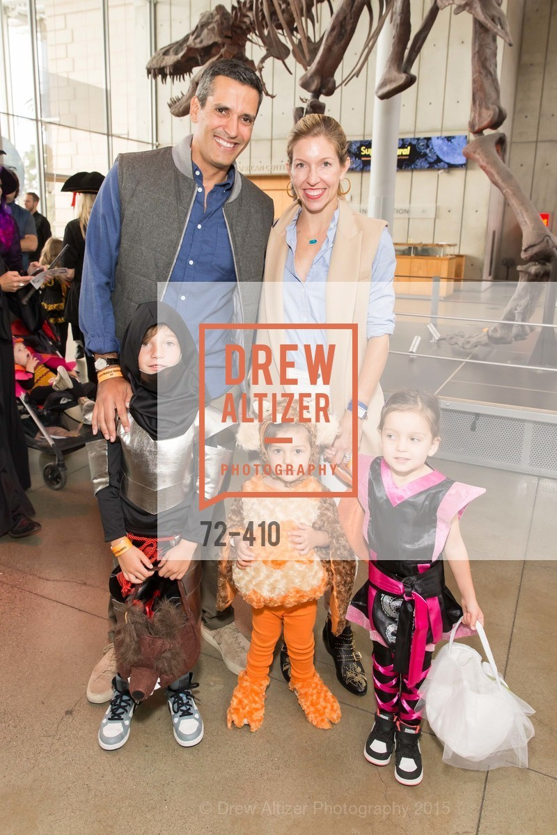 Wyatt Gruber, Griffin Gruber, Johnny Gruber, Nina Gruber, Jane Gruber, California Academy of Sciences Presents SuperNatural Halloween 2015, California Academy of Science. 	55 Music Concourse Dr, October 23rd, 2015,Drew Altizer, Drew Altizer Photography, full-service agency, private events, San Francisco photographer, photographer california