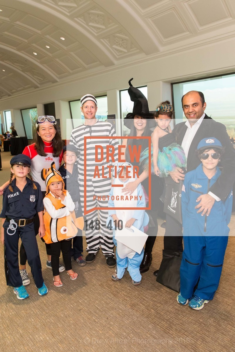 Jennifer Vander Marck, Carine Vander Marck, Theo Vander Marck, Paul Vander Marck, Annabel Vander Marck, Ash Shah, Krishiv Shah, Ishani Shah, Shashien Shah, Shloak Shah, California Academy of Sciences Presents SuperNatural Halloween 2015, California Academy of Science. 	55 Music Concourse Dr, October 23rd, 2015,Drew Altizer, Drew Altizer Photography, full-service agency, private events, San Francisco photographer, photographer california