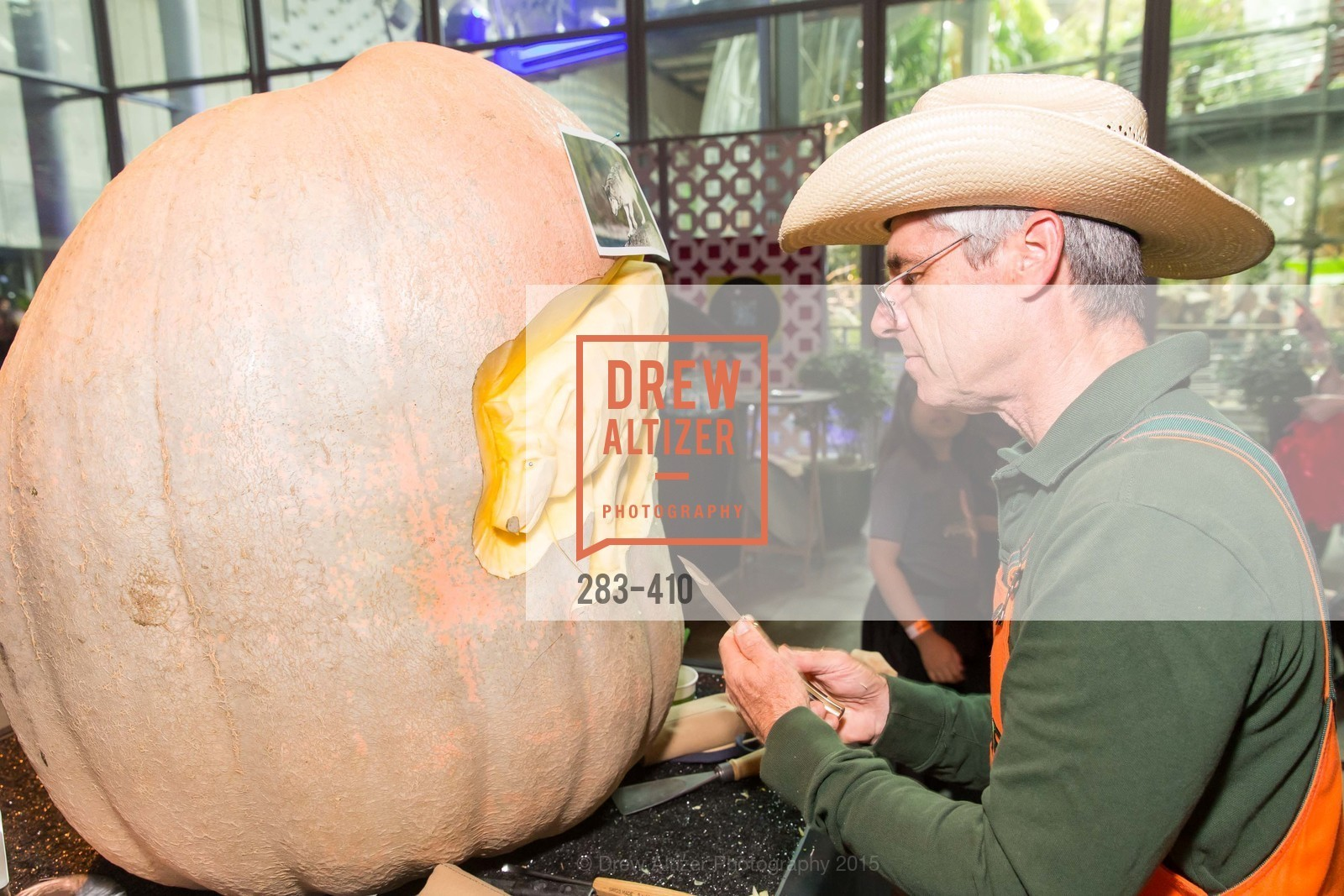Farmer Mike, California Academy of Sciences Presents SuperNatural Halloween 2015, California Academy of Science. 	55 Music Concourse Dr, October 23rd, 2015,Drew Altizer, Drew Altizer Photography, full-service agency, private events, San Francisco photographer, photographer california