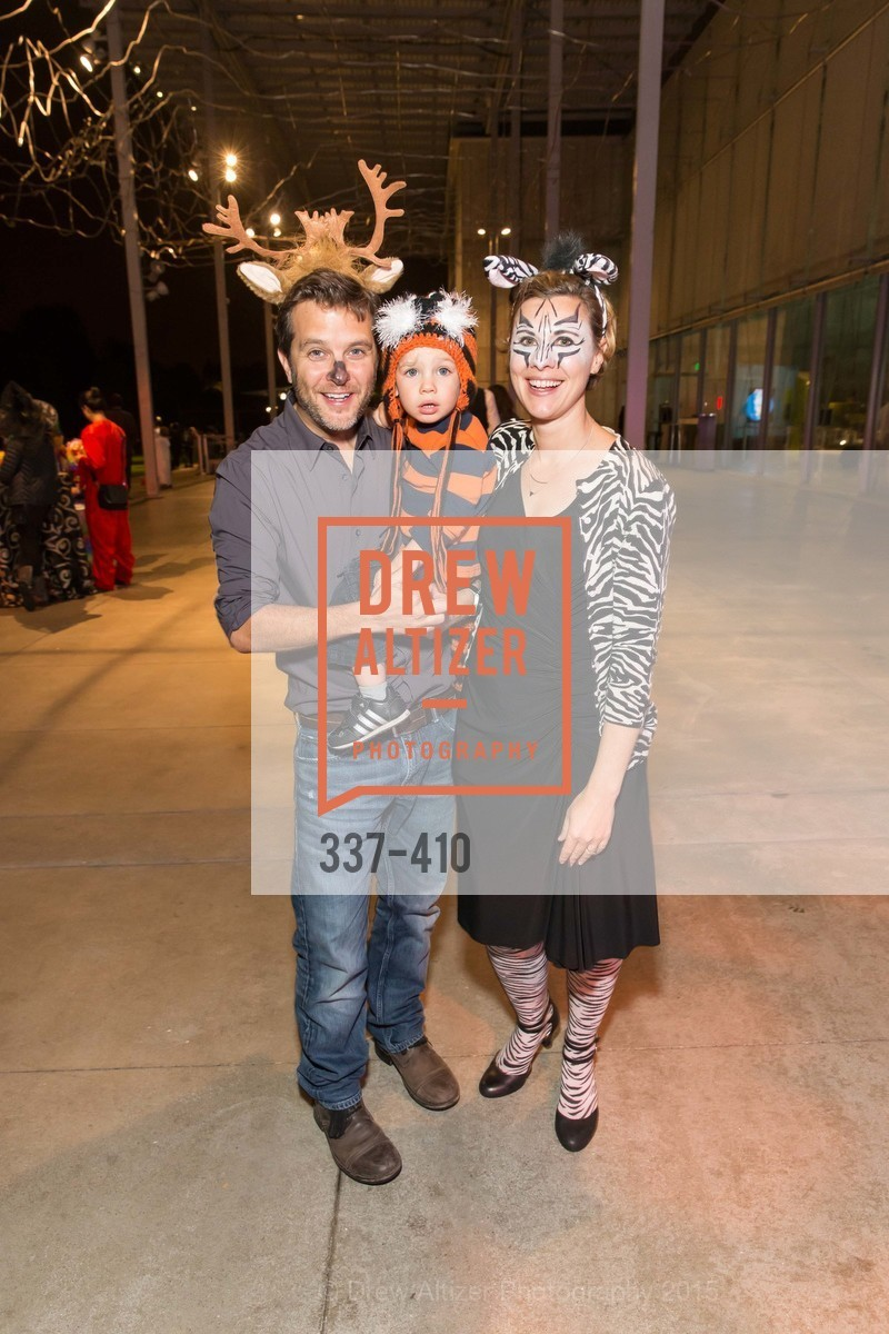 Matt Zarem, Mason Zarem, Tiffany Zarem, California Academy of Sciences Presents SuperNatural Halloween 2015, California Academy of Science. 	55 Music Concourse Dr, October 23rd, 2015,Drew Altizer, Drew Altizer Photography, full-service agency, private events, San Francisco photographer, photographer california
