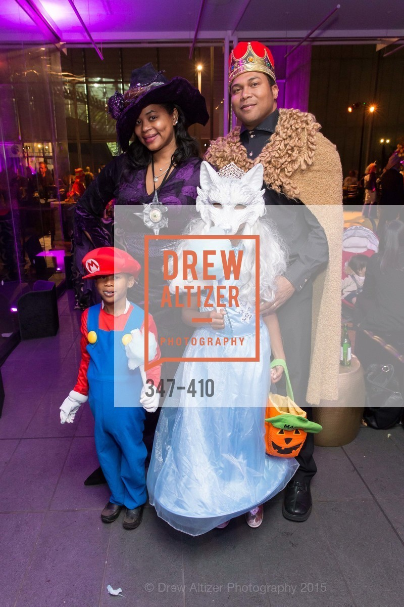 Ayanna Jenkins-Toney, Maxwell Toney, Madison Toney, Cornell Toney, California Academy of Sciences Presents SuperNatural Halloween 2015, California Academy of Science. 55 Music Concourse Dr, October 23rd, 2015,Drew Altizer, Drew Altizer Photography, full-service agency, private events, San Francisco photographer, photographer california