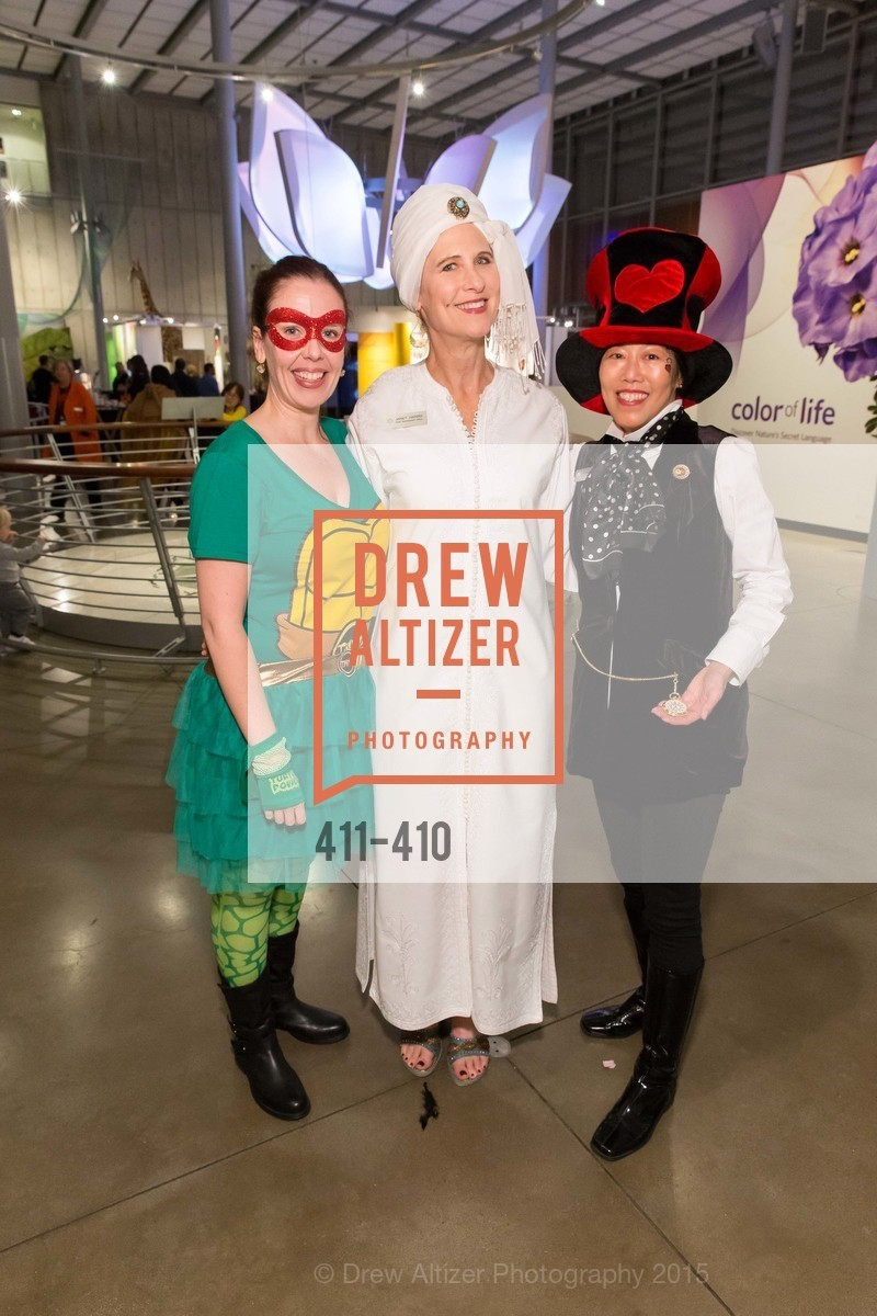 Meghan Mortensen, Janet Harris, Doria Leong, California Academy of Sciences Presents SuperNatural Halloween 2015, California Academy of Science. 55 Music Concourse Dr, October 23rd, 2015,Drew Altizer, Drew Altizer Photography, full-service event agency, private events, San Francisco photographer, photographer California