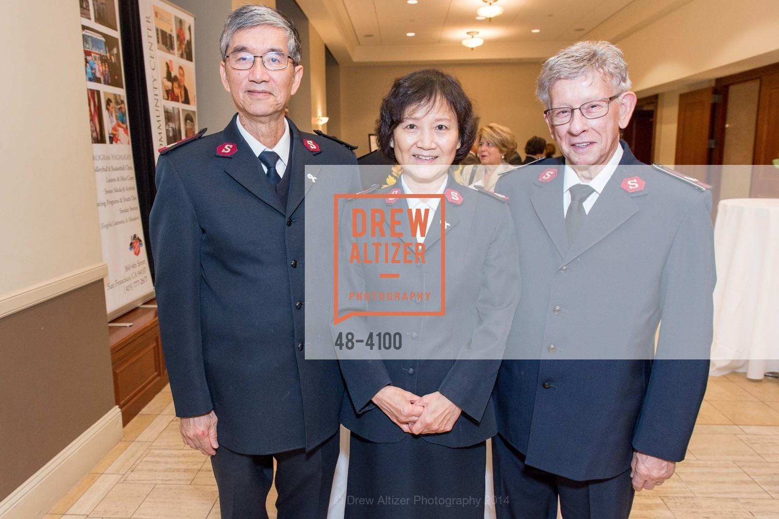 Maj. Thomas Mui, Maj. Joy Mui, Lt.Col. Ritz Love, Photo #48-4100
