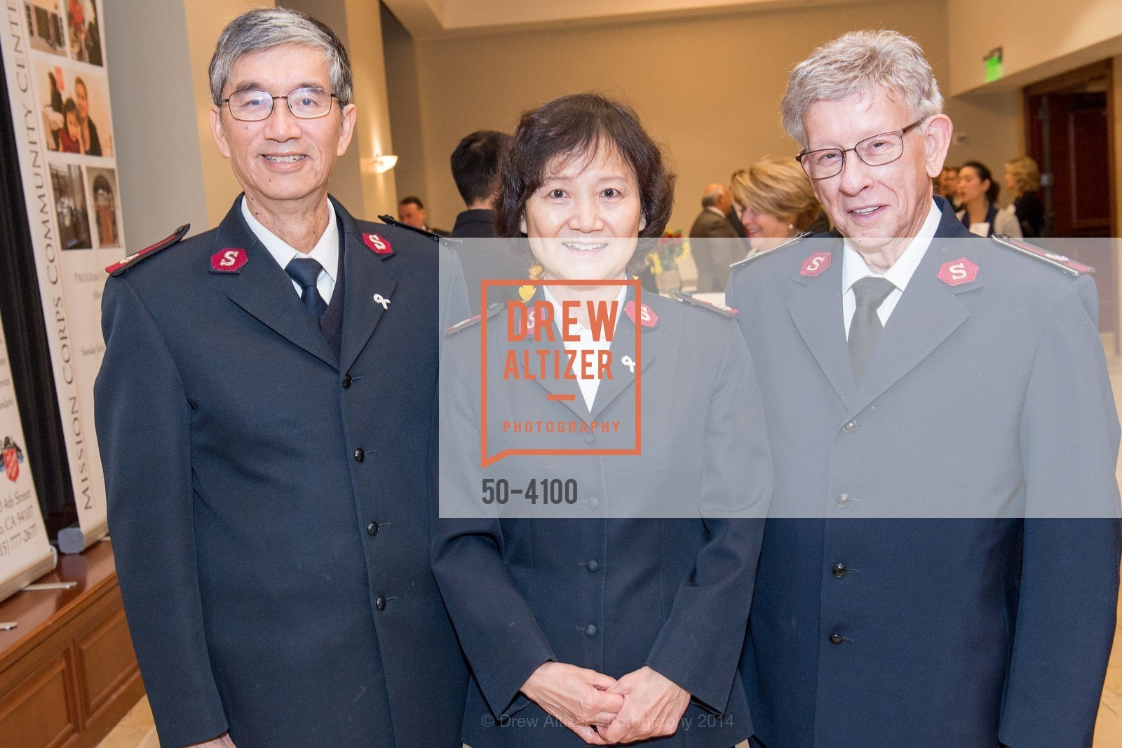 Maj. Thomas Mui, Maj. Joy Mui, Lt.Col. Ritz Love, Photo #50-4100