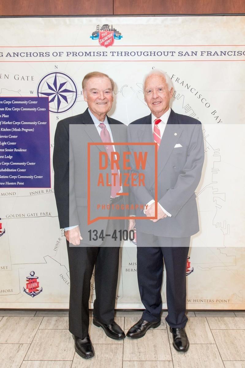 The Honorable Mayor Frank Jordan, RADM John Bitoff, Photo #134-4100