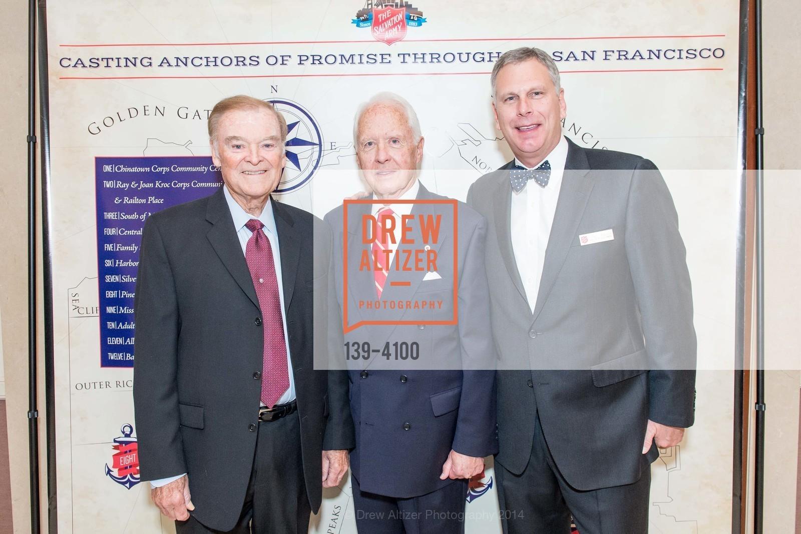 The Honorable Mayor Frank Jordan, RADM John Bitoff, Ernst Bauer, Photo #139-4100