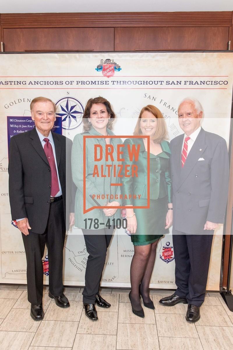 The Honorable Mayor Frank Jordan, Jannine Vaughn, RADM John Bitoff, Photo #178-4100
