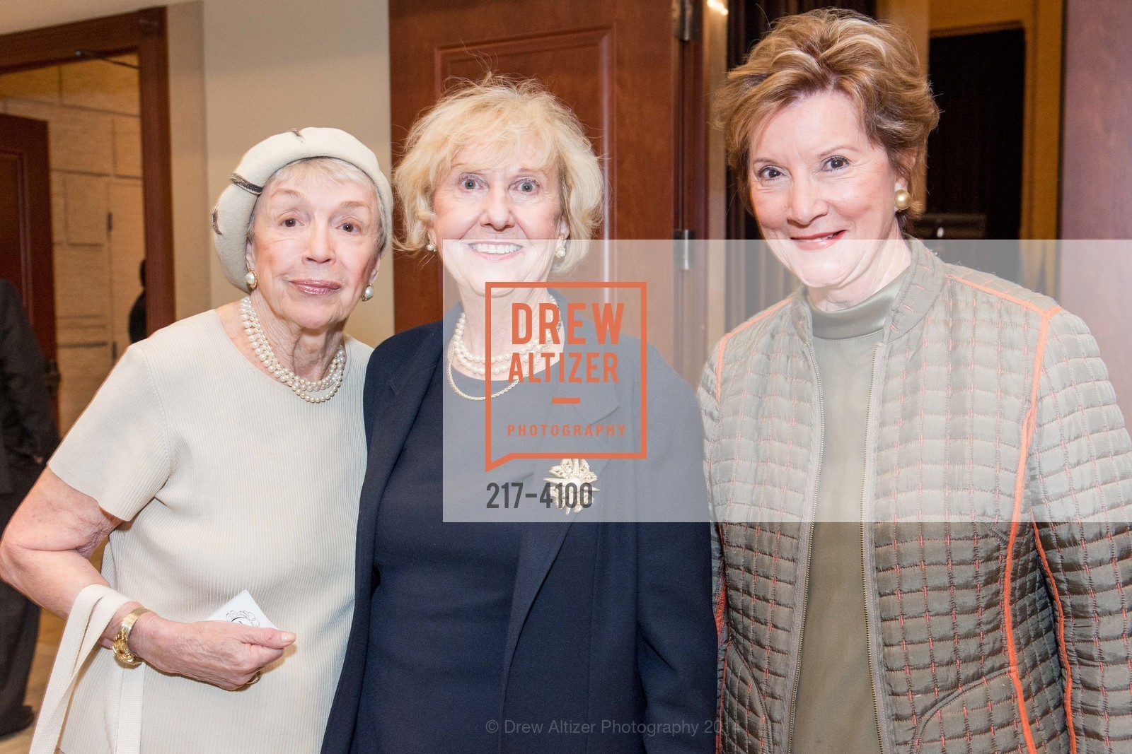 Marie Clyde, Judith Heuser, Sherial Heller, Photo #217-4100
