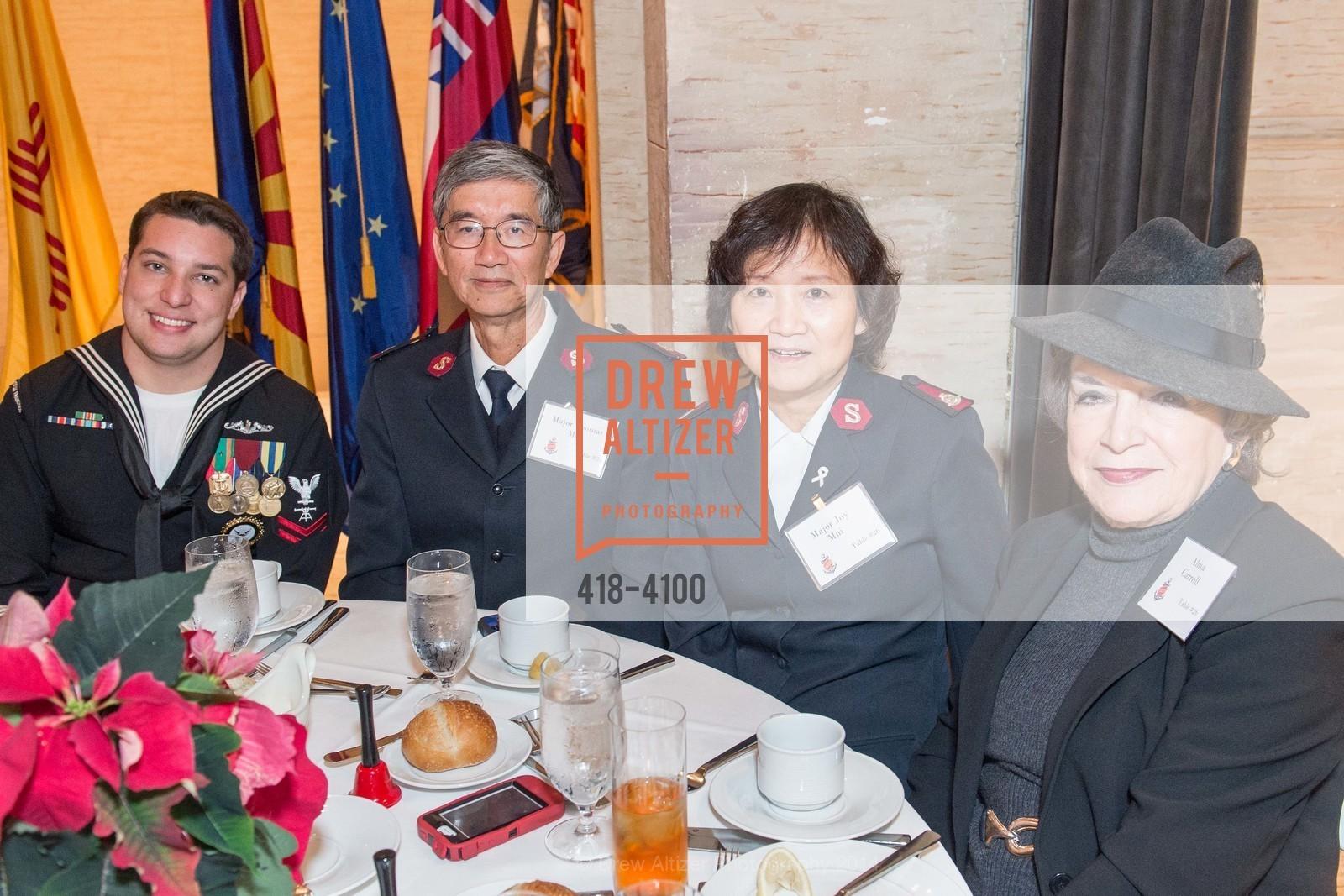 Maj. Thomas Mui, Maj. Joy Mui, Alma Carroll, Photo #418-4100