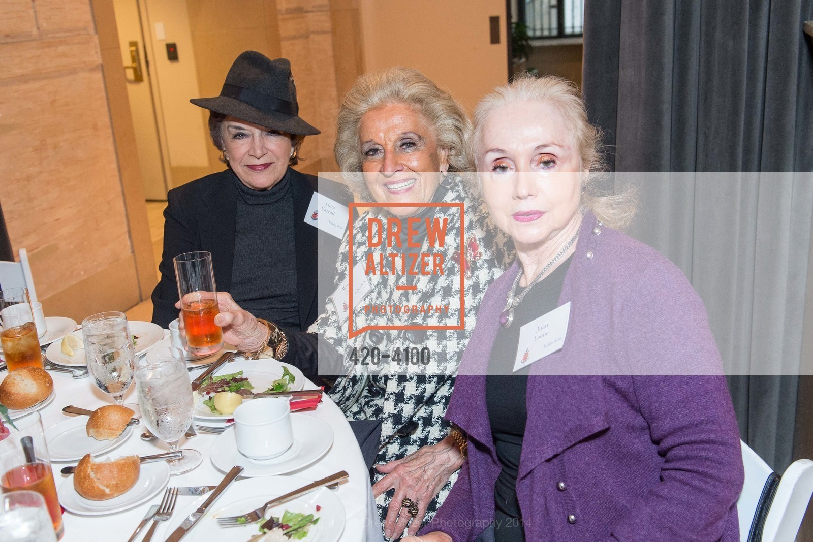 Alma Carroll, Wanda Zakri, Joan Leone, Photo #420-4100