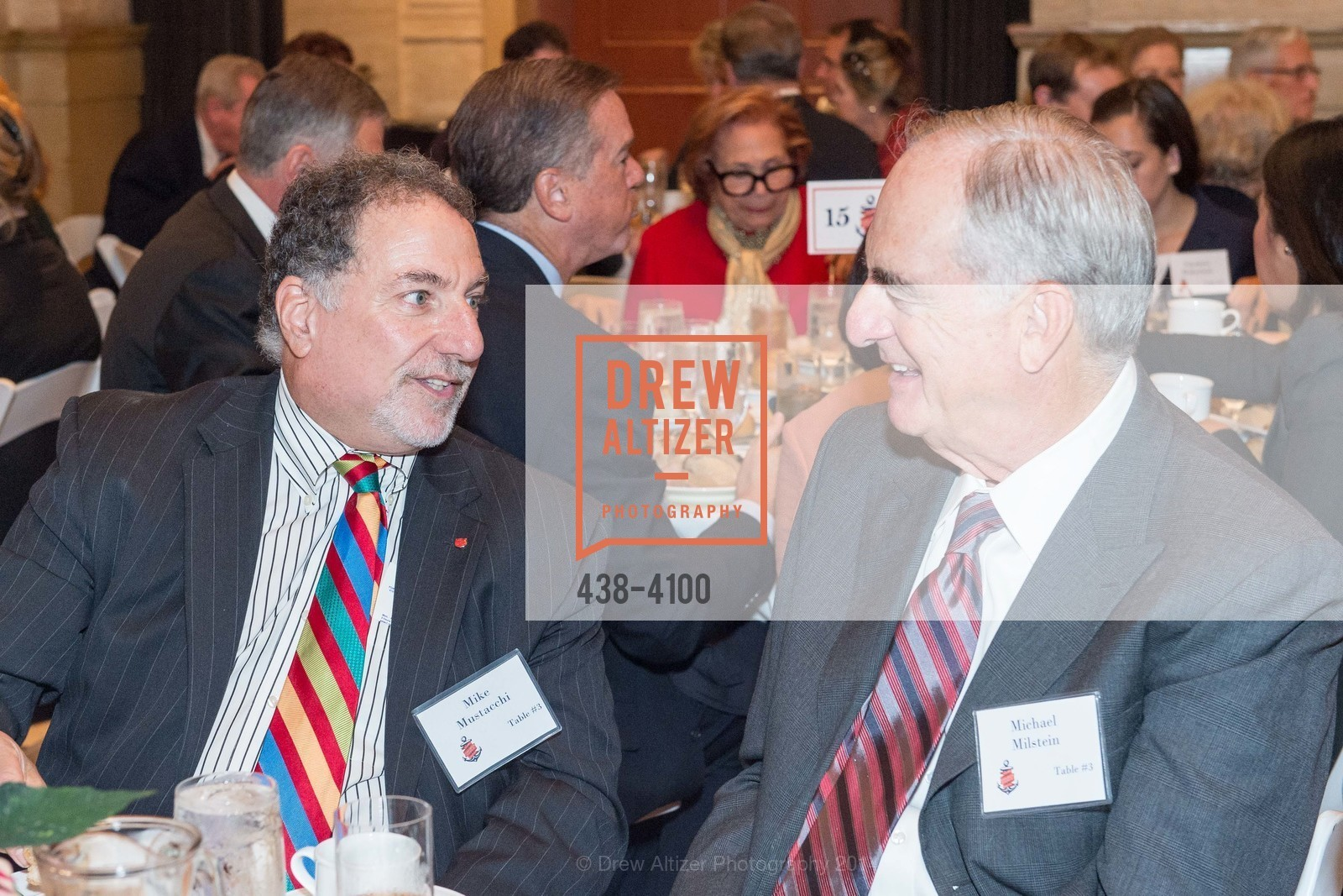 Mike Mustacchi, Michael Milstein, Photo #438-4100