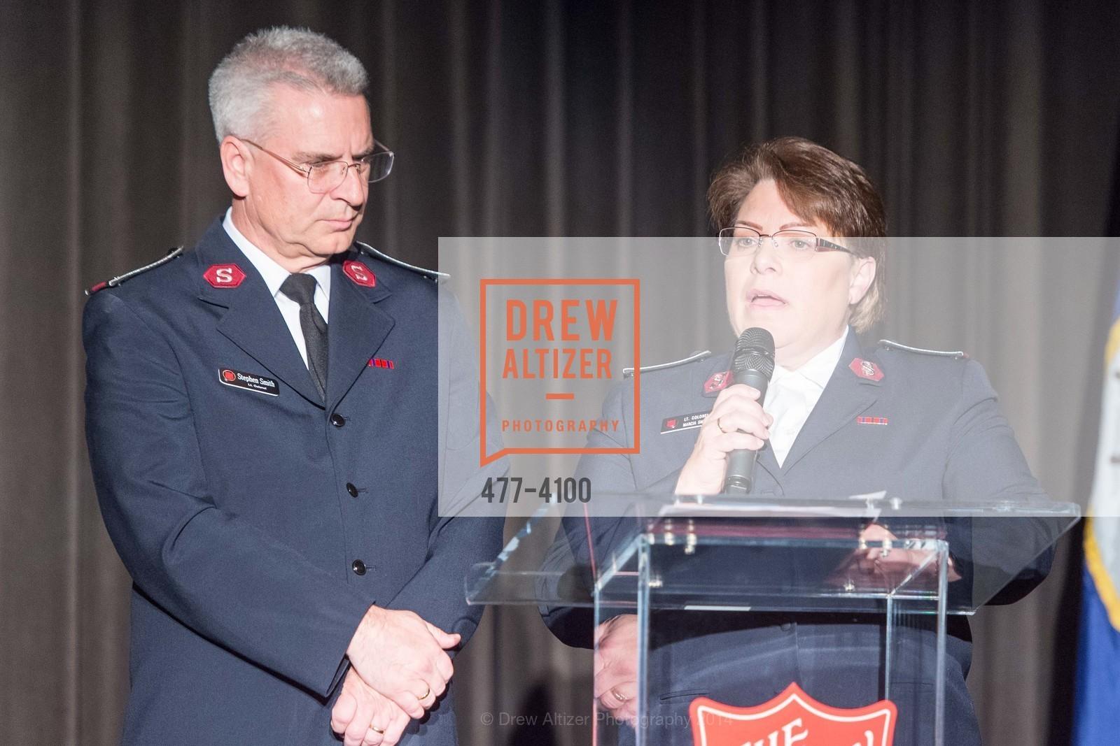 Lt.Col. Stephen Smith, Lt.Col. Marcia Smith, Photo #477-4100
