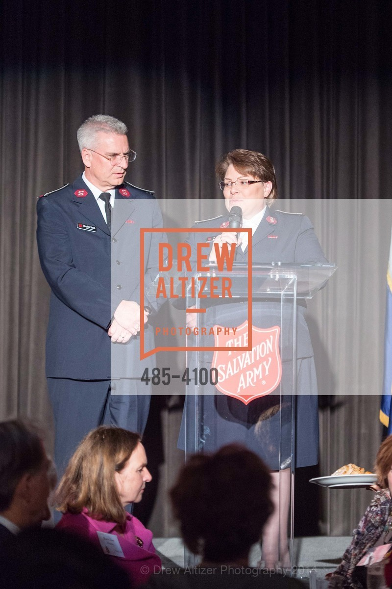 Lt.Col. Stephen Smith, Lt.Col. Marcia Smith, Photo #485-4100
