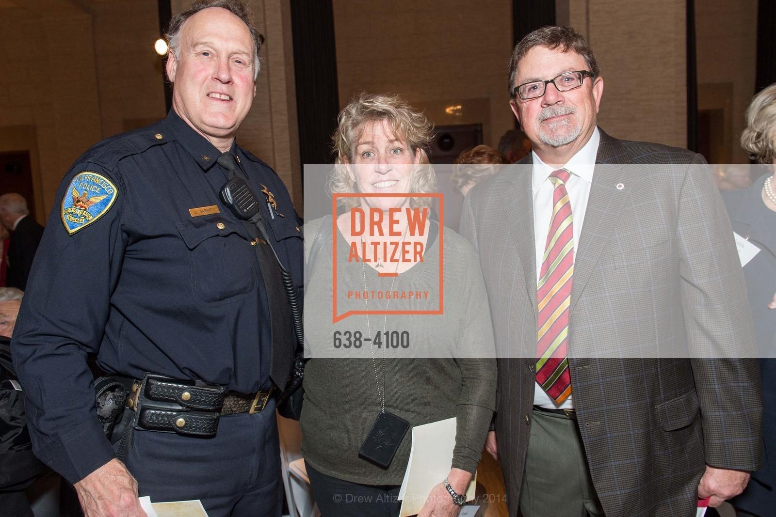 Joe Garrity, Ann Kronenberg, Rick Osgood, Photo #638-4100