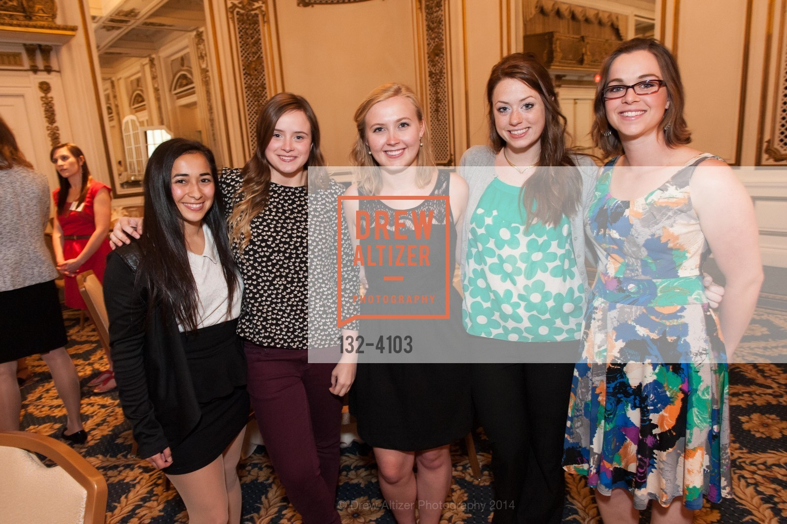 Jazmin Maya, Tory Wells, Hannah Thompson, Natalie Gallo, Allison Littlefield, Photo #132-4103
